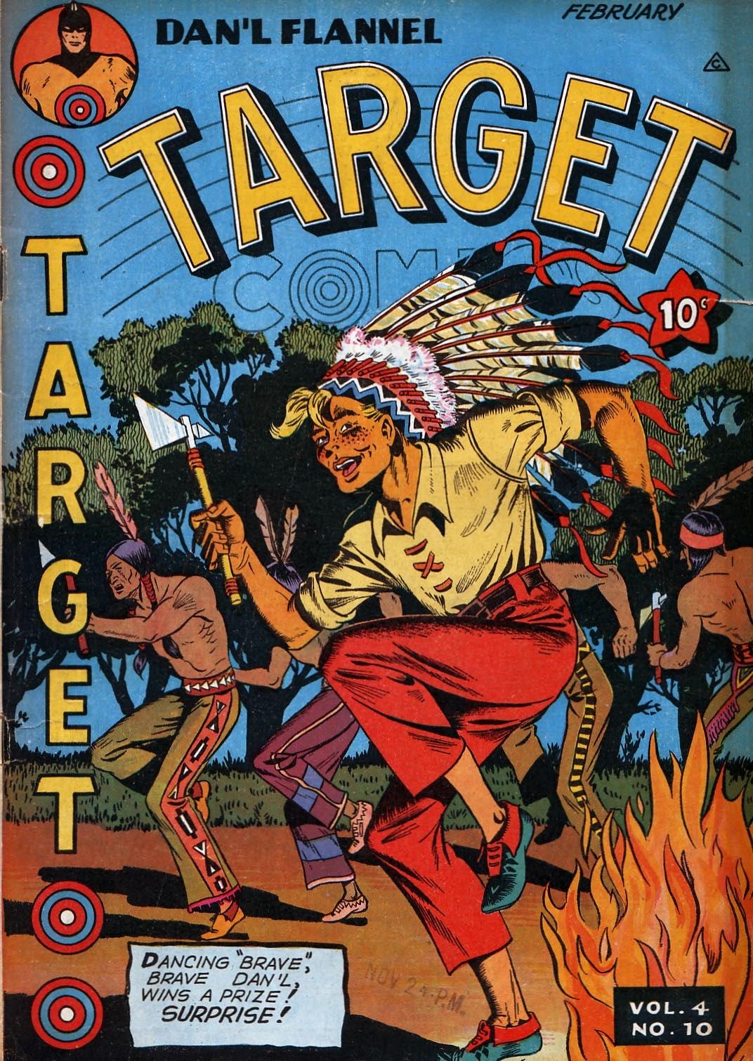 Target Comics 46 Page 1