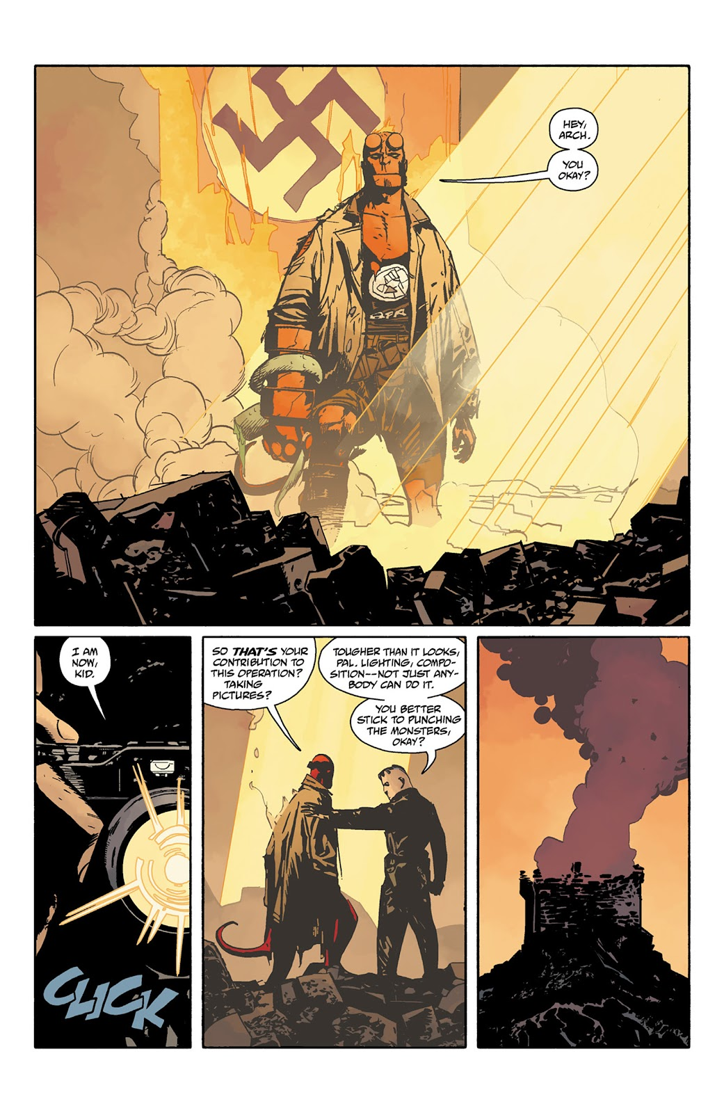 Read online Hellboy and the B.P.R.D. comic -  Issue # _TPB - 117