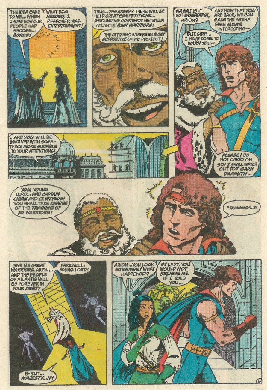Read online Arion, Lord of Atlantis comic -  Issue #23 - 7