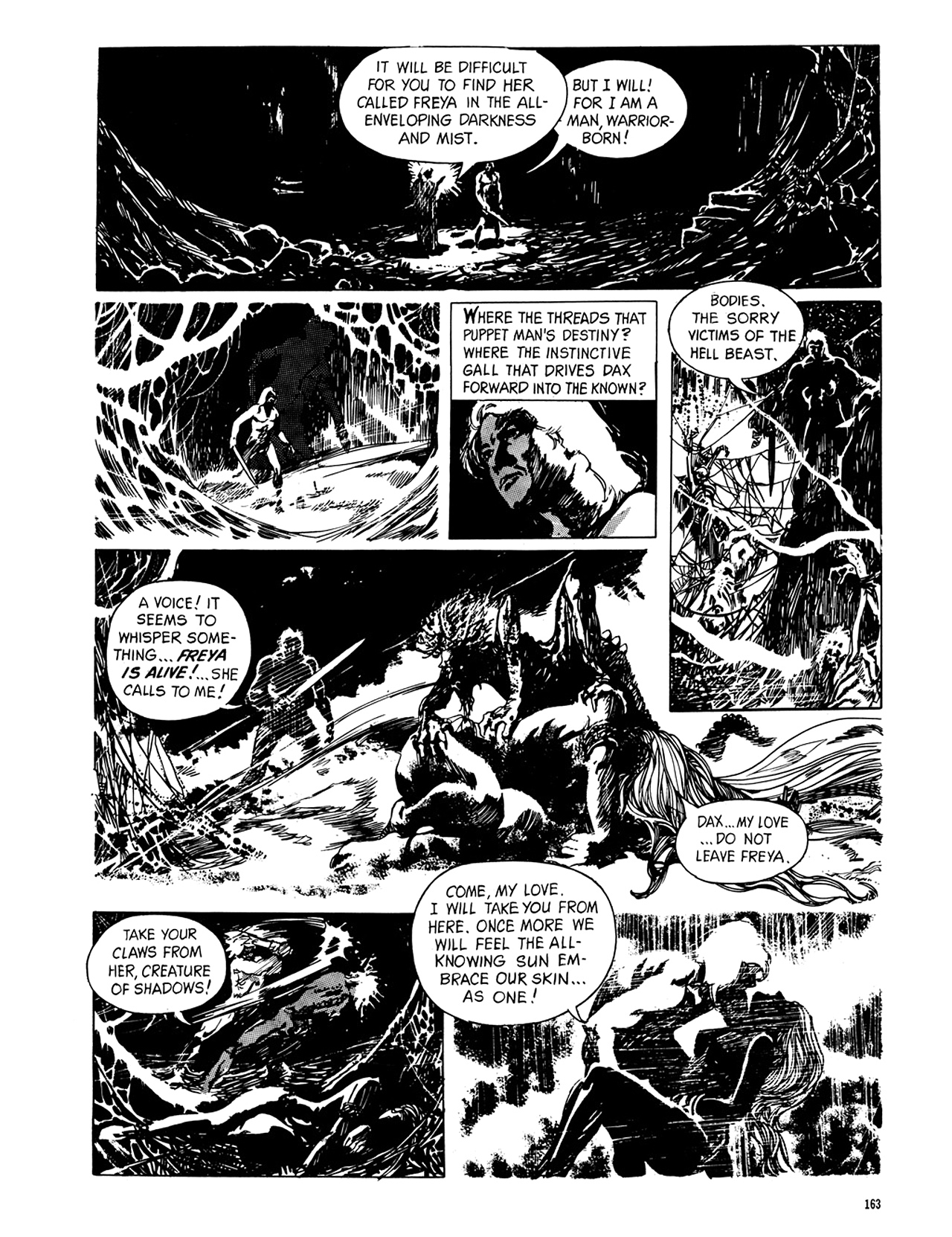 Read online Eerie Archives comic -  Issue # TPB 8 - 164
