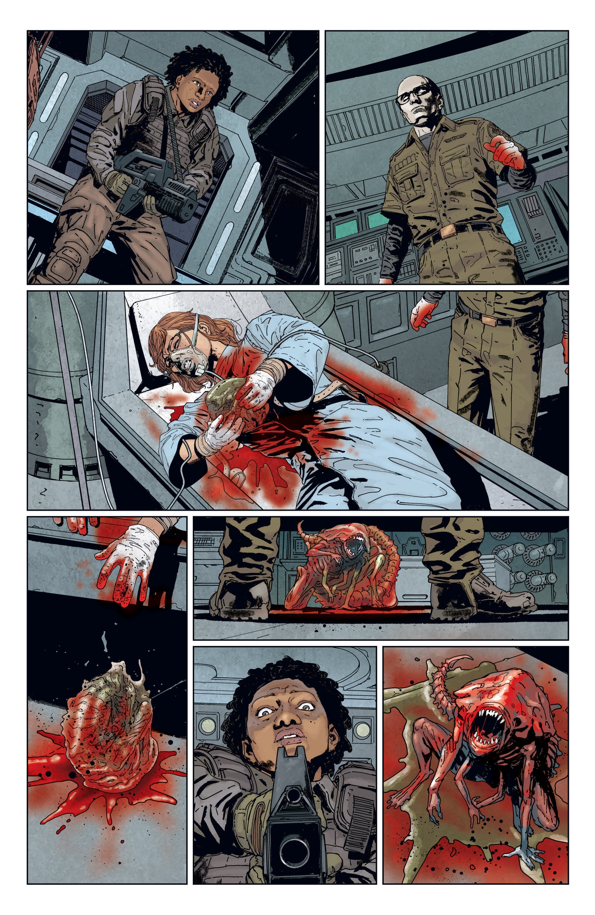 Read online Aliens: Defiance comic -  Issue #7 - 14