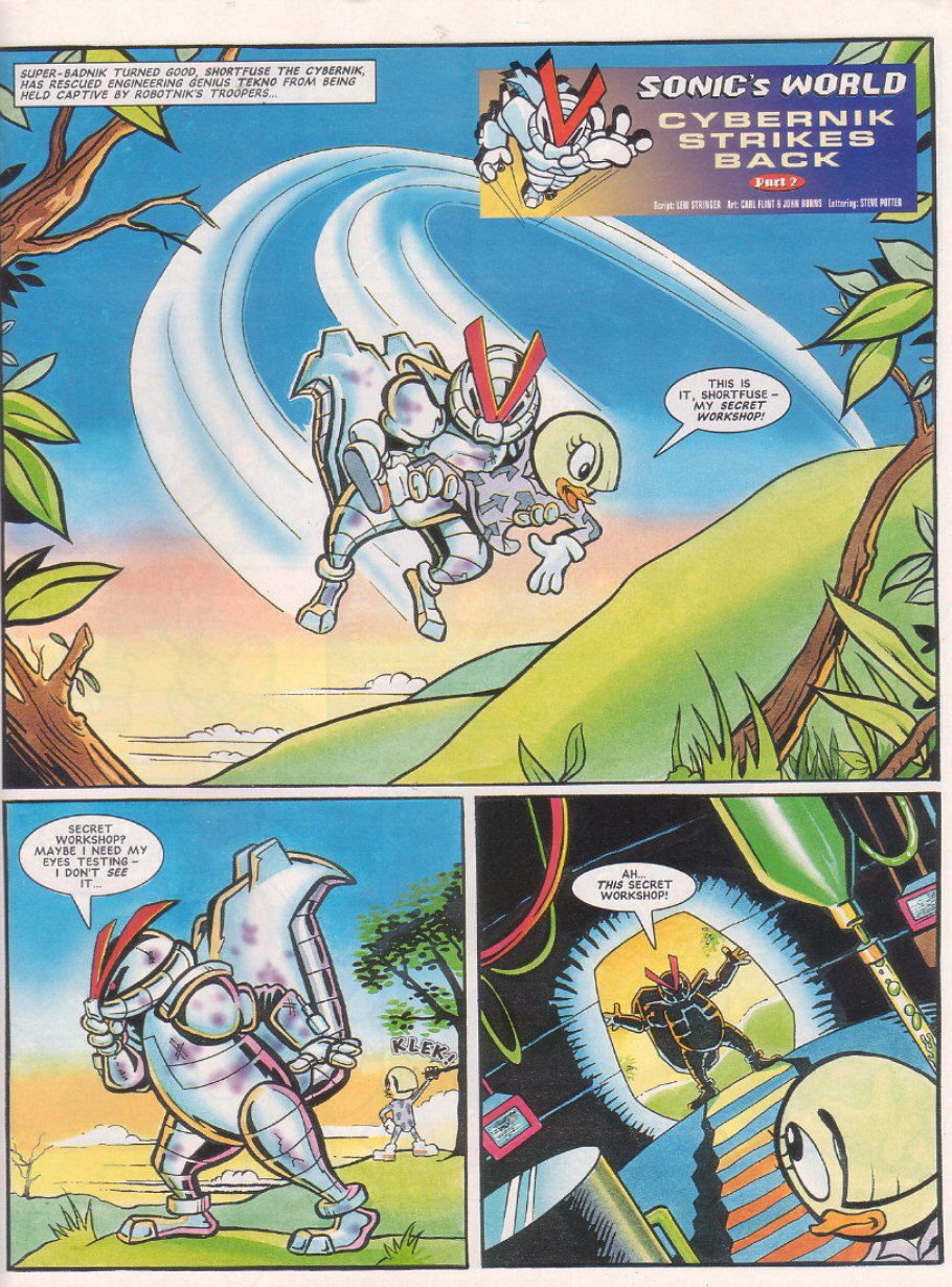 Read online Sonic the Comic comic -  Issue #64 - 24