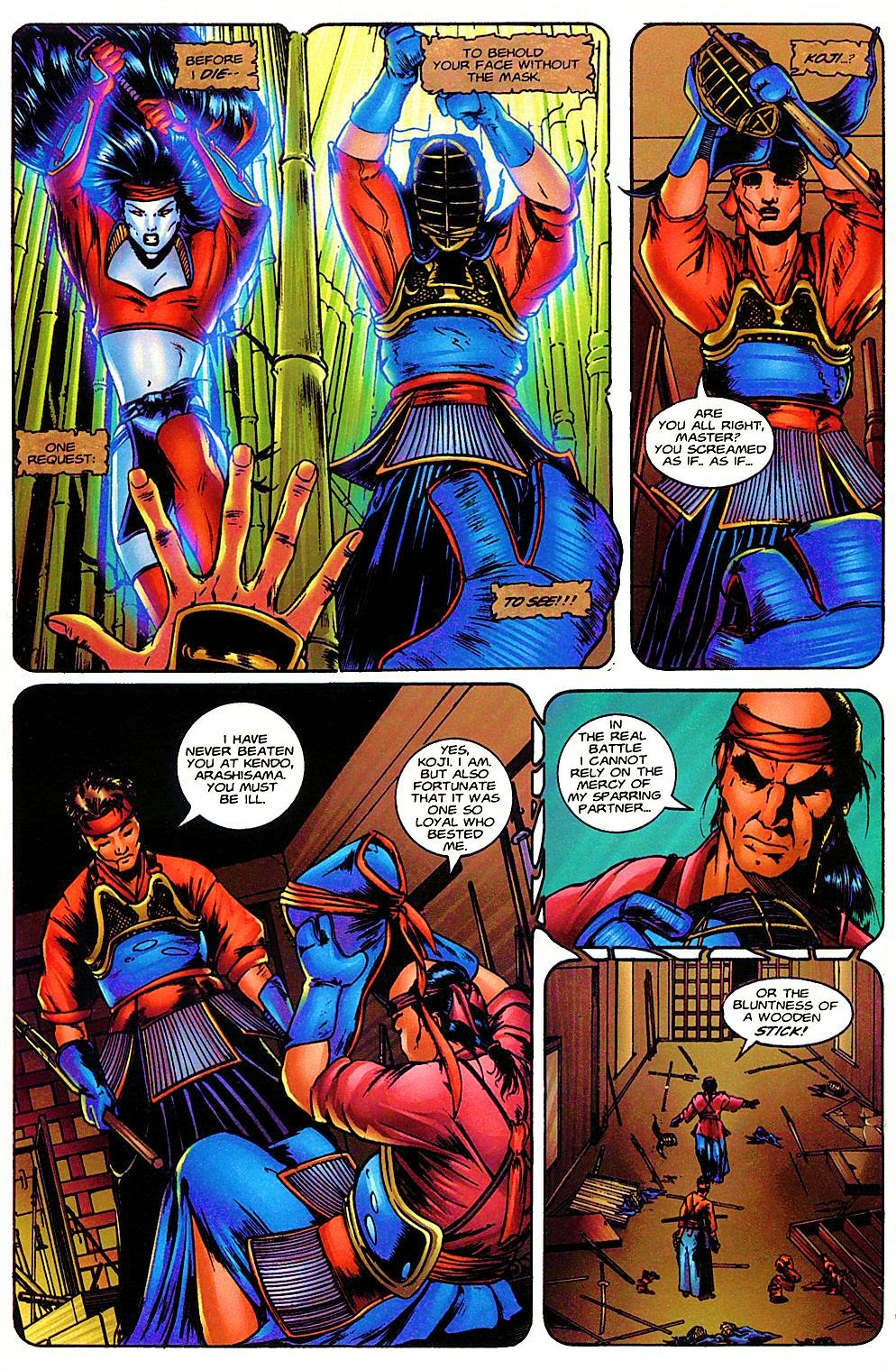 Read online Shi: The Way of the Warrior comic -  Issue #6 - 17
