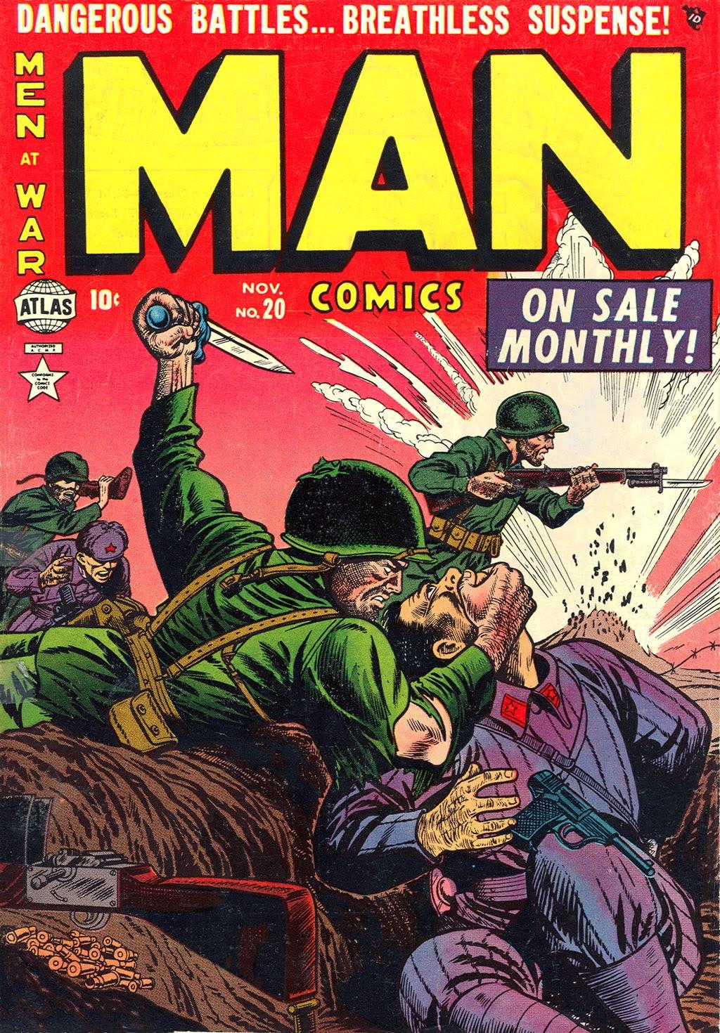 Man Comics 20 Page 1