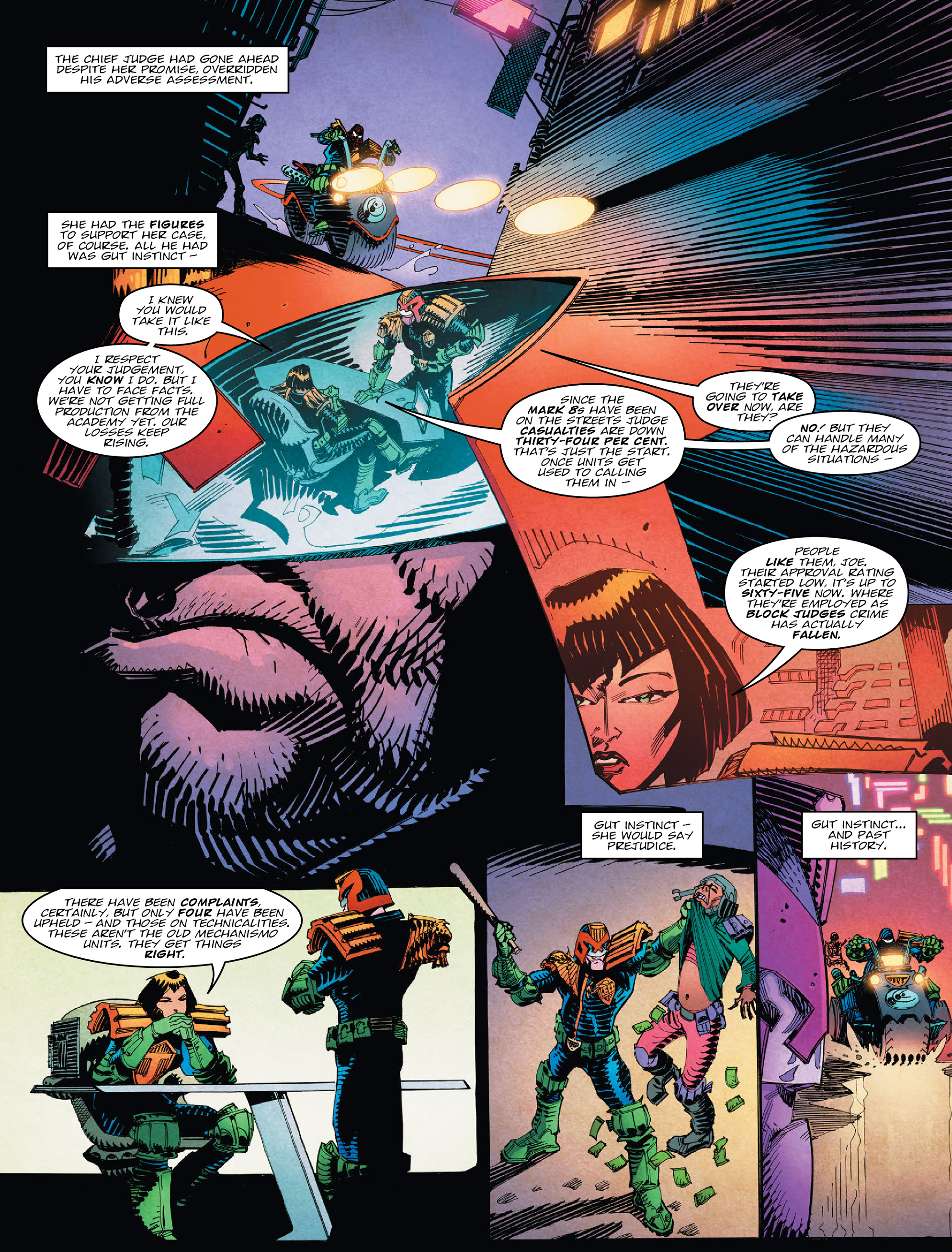 Read online 2000 AD comic -  Issue #2028 - 6