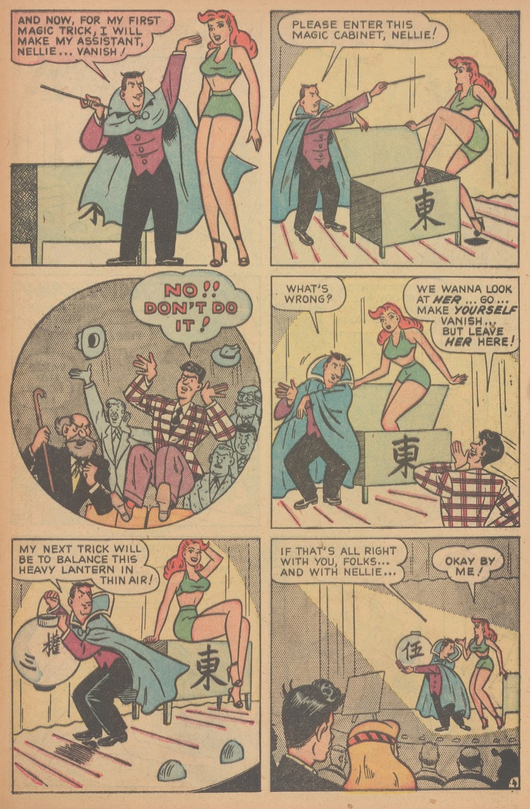 Read online Nellie The Nurse (1945) comic -  Issue #21 - 45