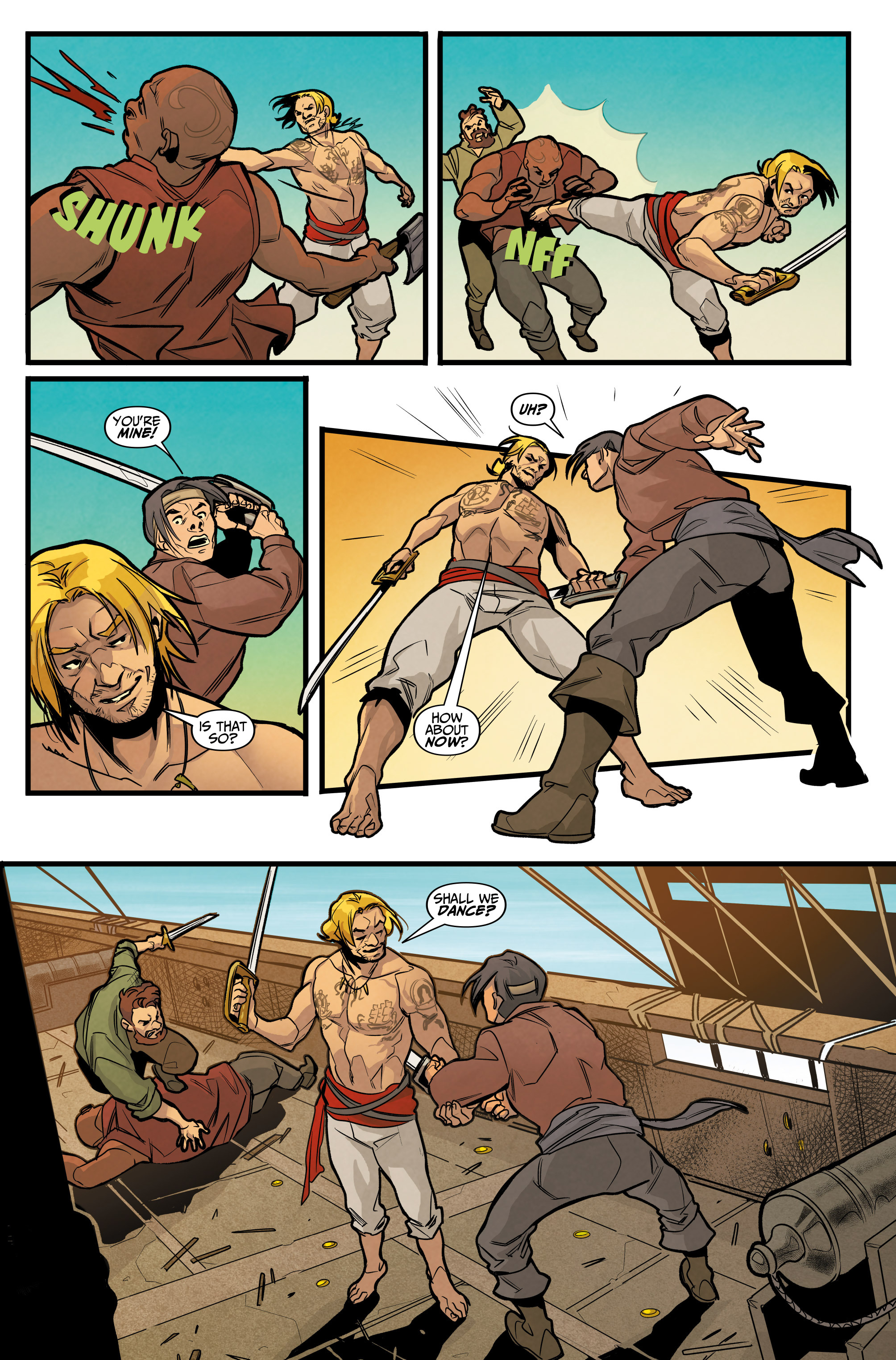Read online Assassin's Creed: Reflections comic -  Issue #3 - 18