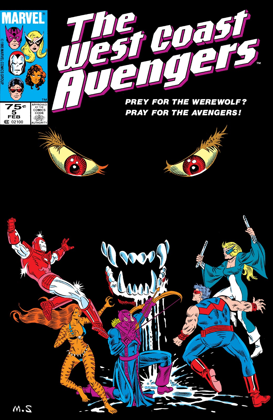 West Coast Avengers (1985) 5 Page 1