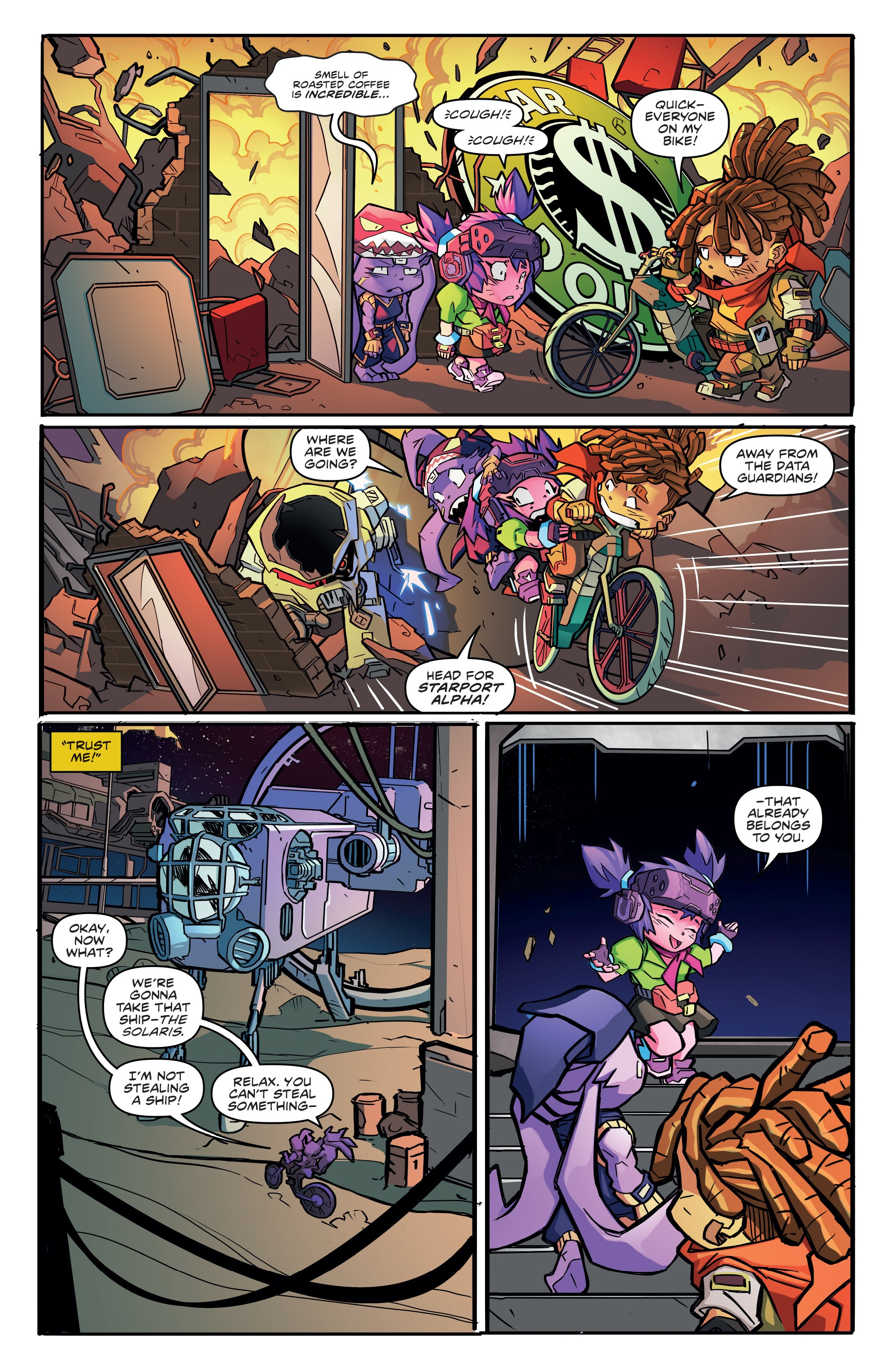 Read online Starcadia Quest comic -  Issue #1 - 21