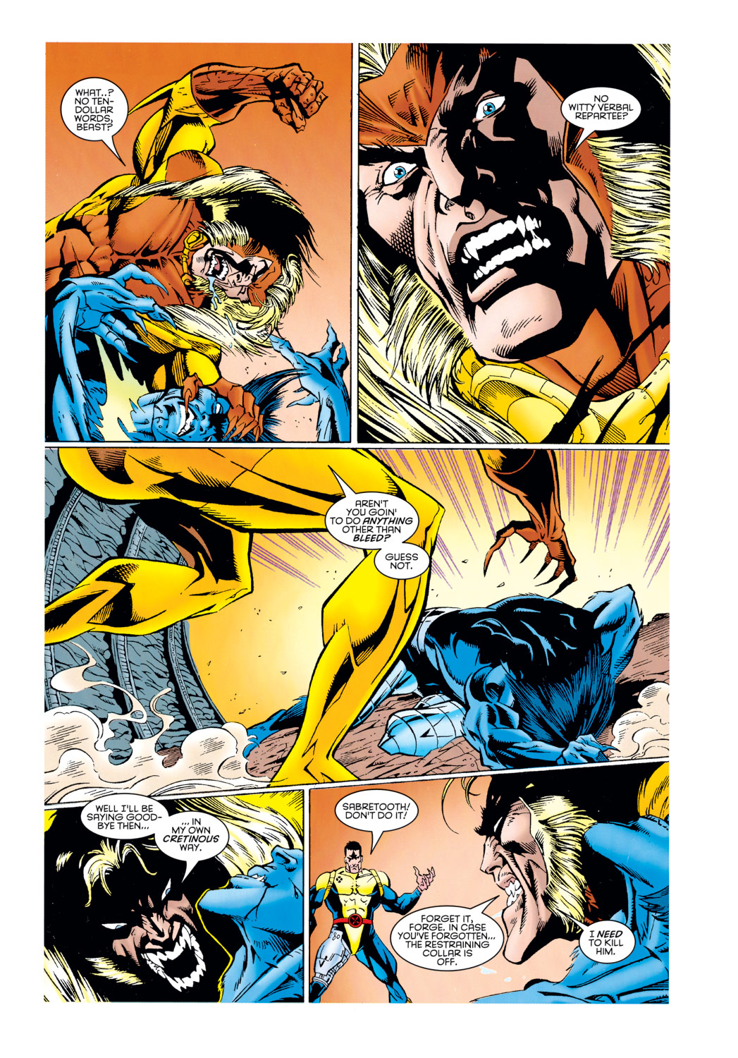 Read online X-Factor (1986) comic -  Issue #125 - 38