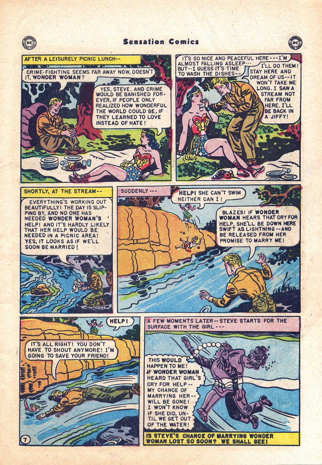 Read online Sensation (Mystery) Comics comic -  Issue #94 - 9