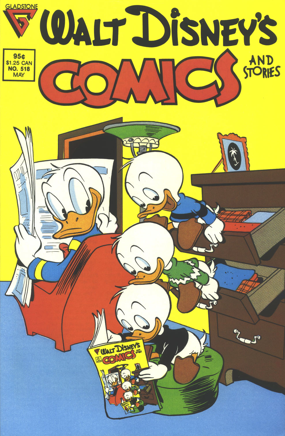 Walt Disney's Comics and Stories issue 518 - Page 1