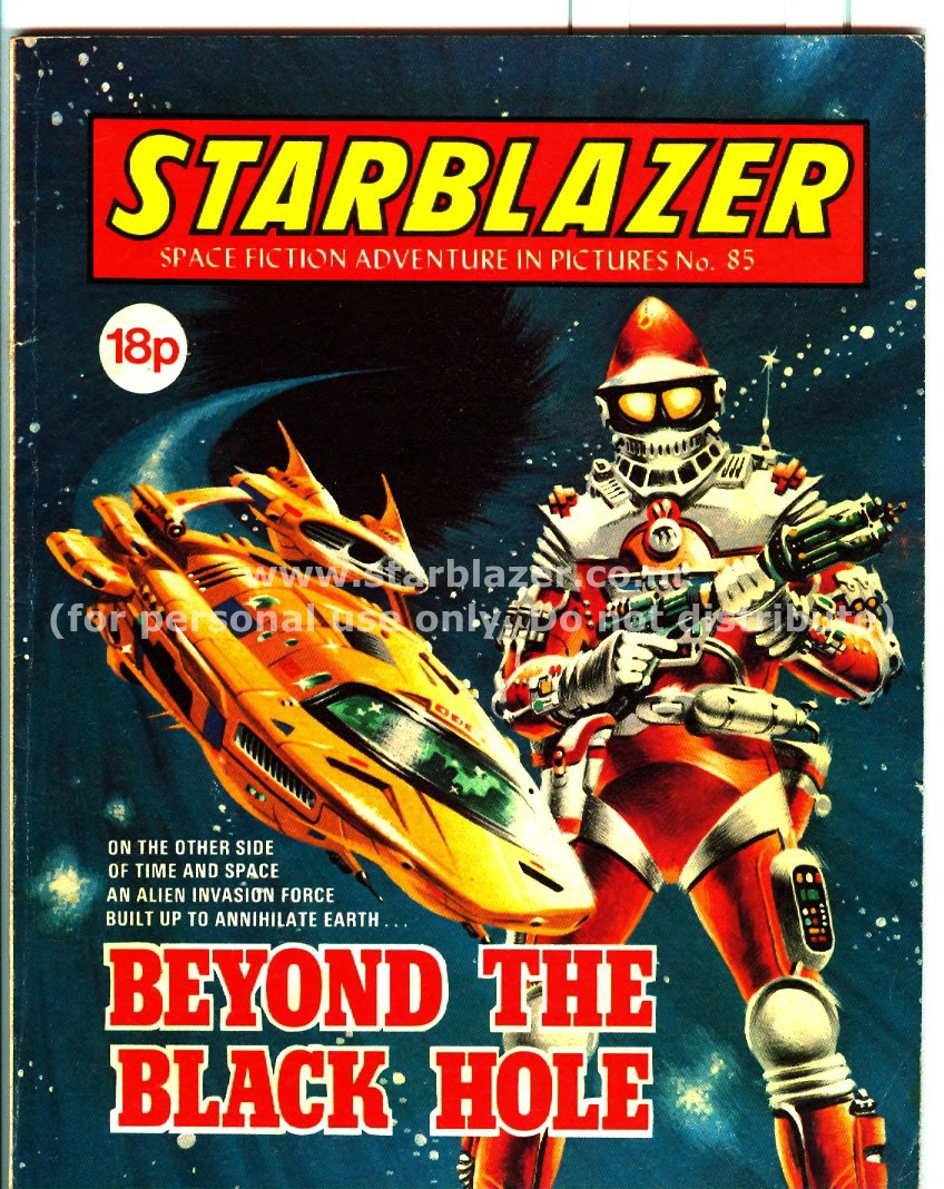 Starblazer issue 85 - Page 1