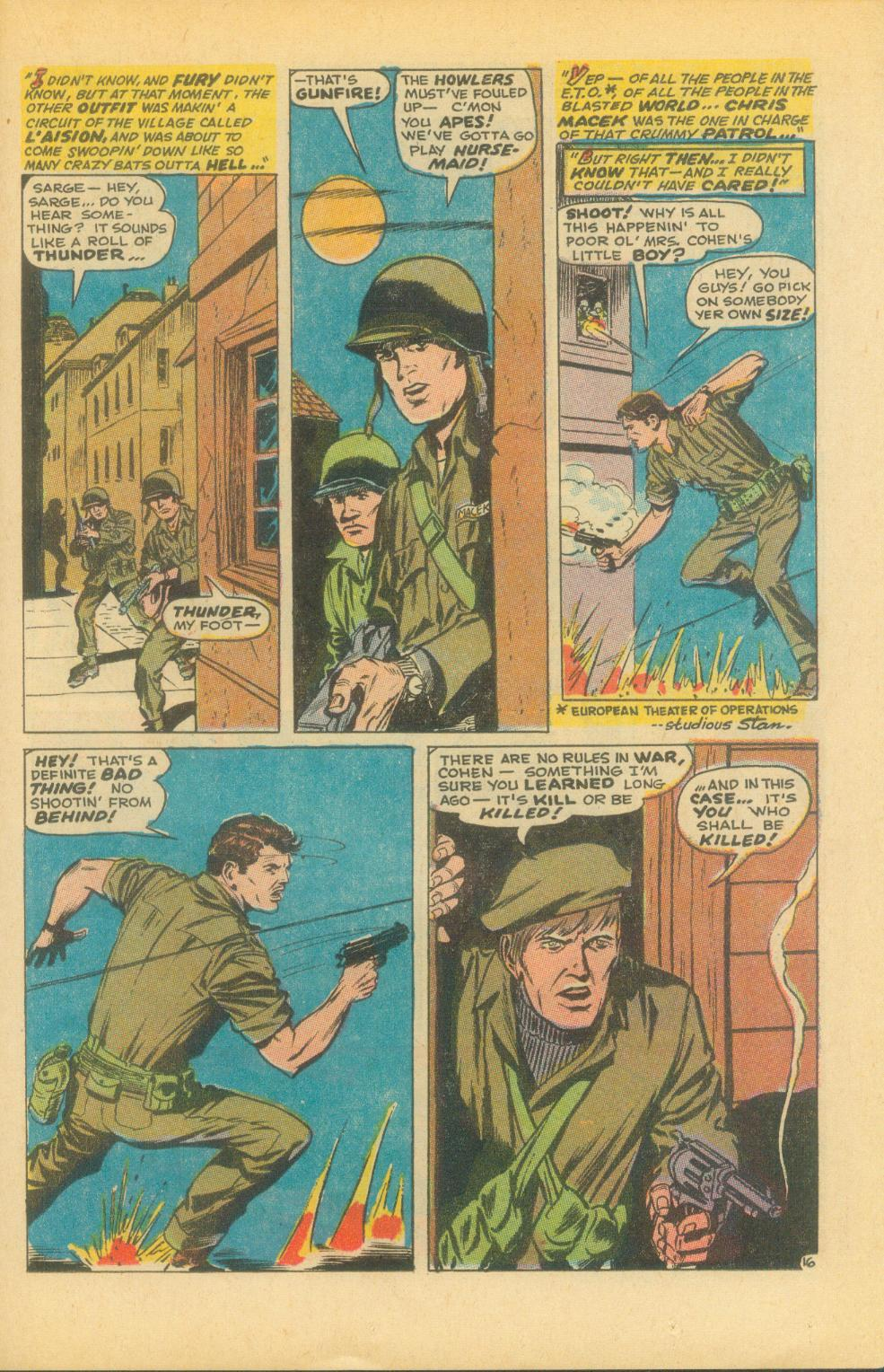 Read online Sgt. Fury comic -  Issue #86 - 23