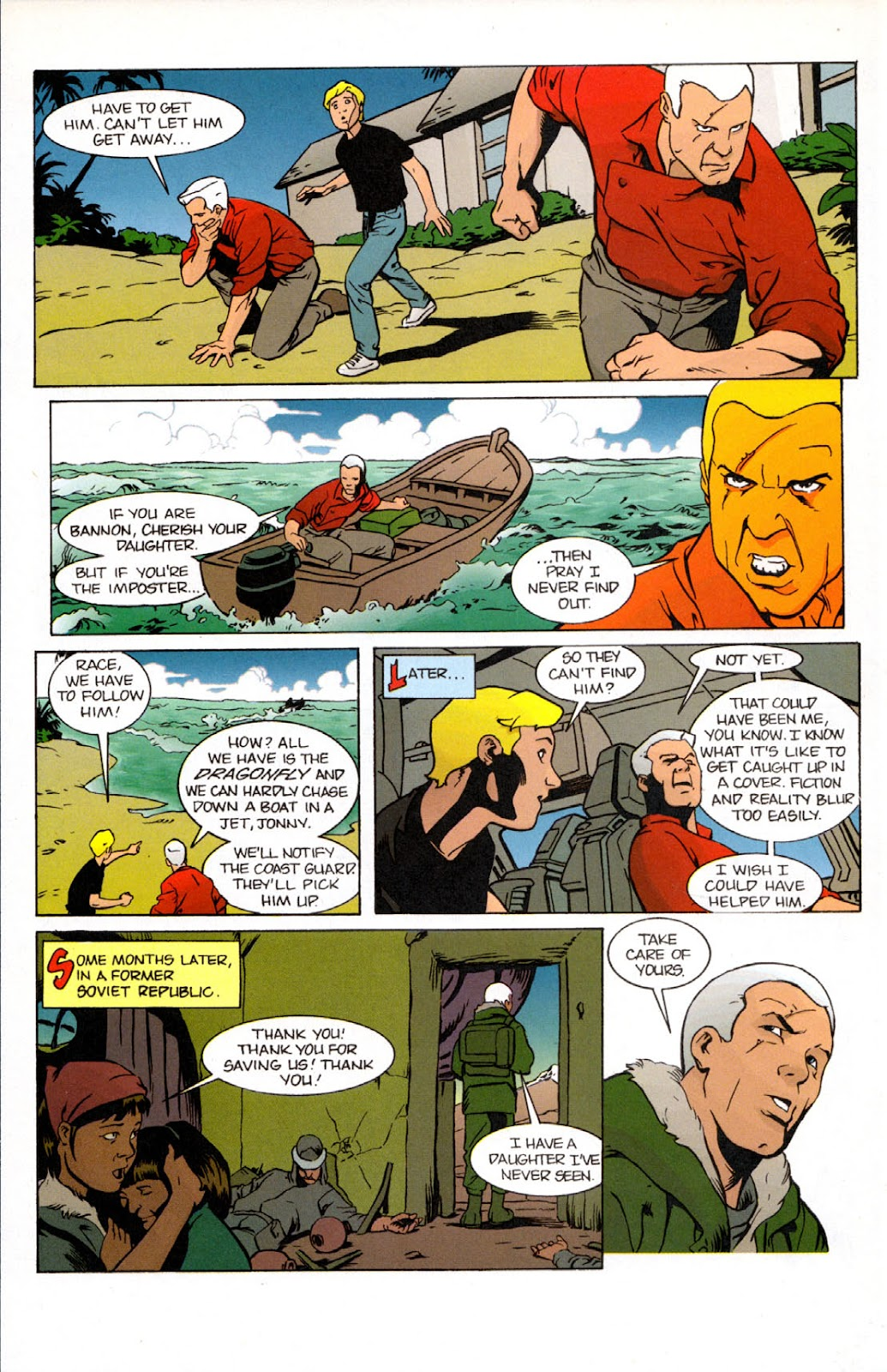 Read online The Real Adventures of Jonny Quest comic -  Issue #7 - 30