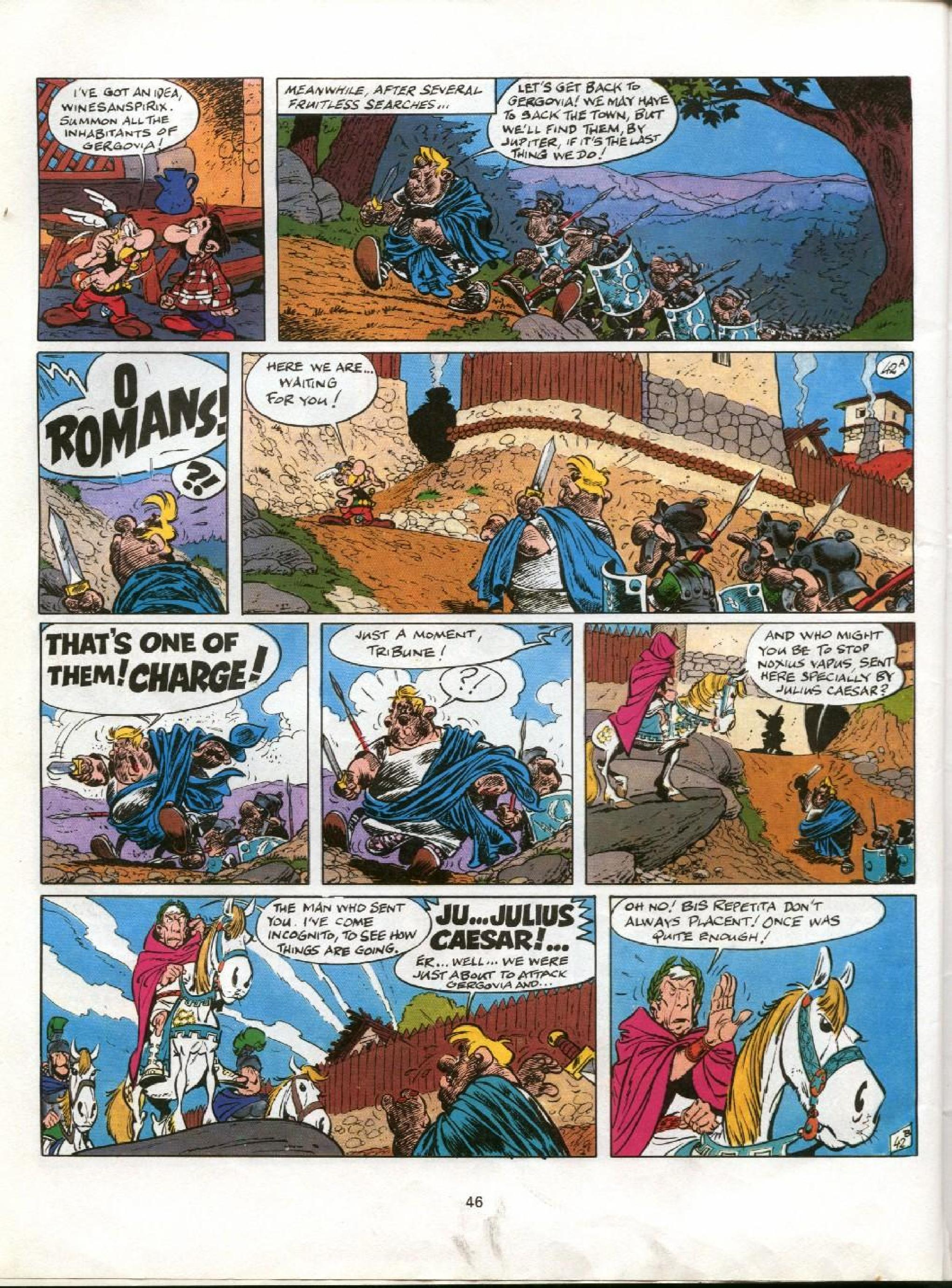 Read online Asterix comic -  Issue #11 - 43