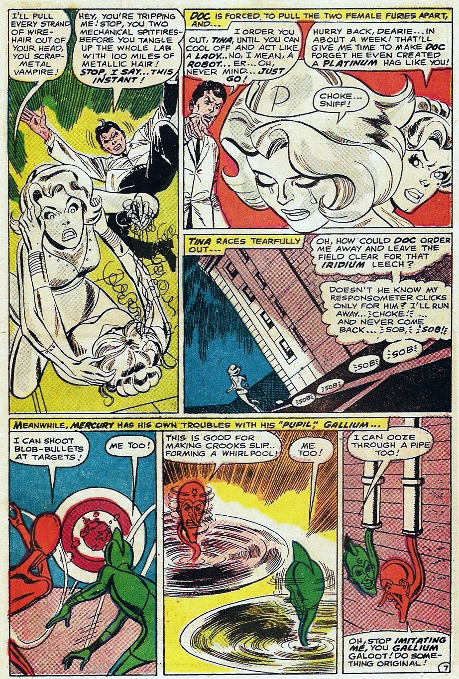 Metal Men (1963) issue 31 - Page 11