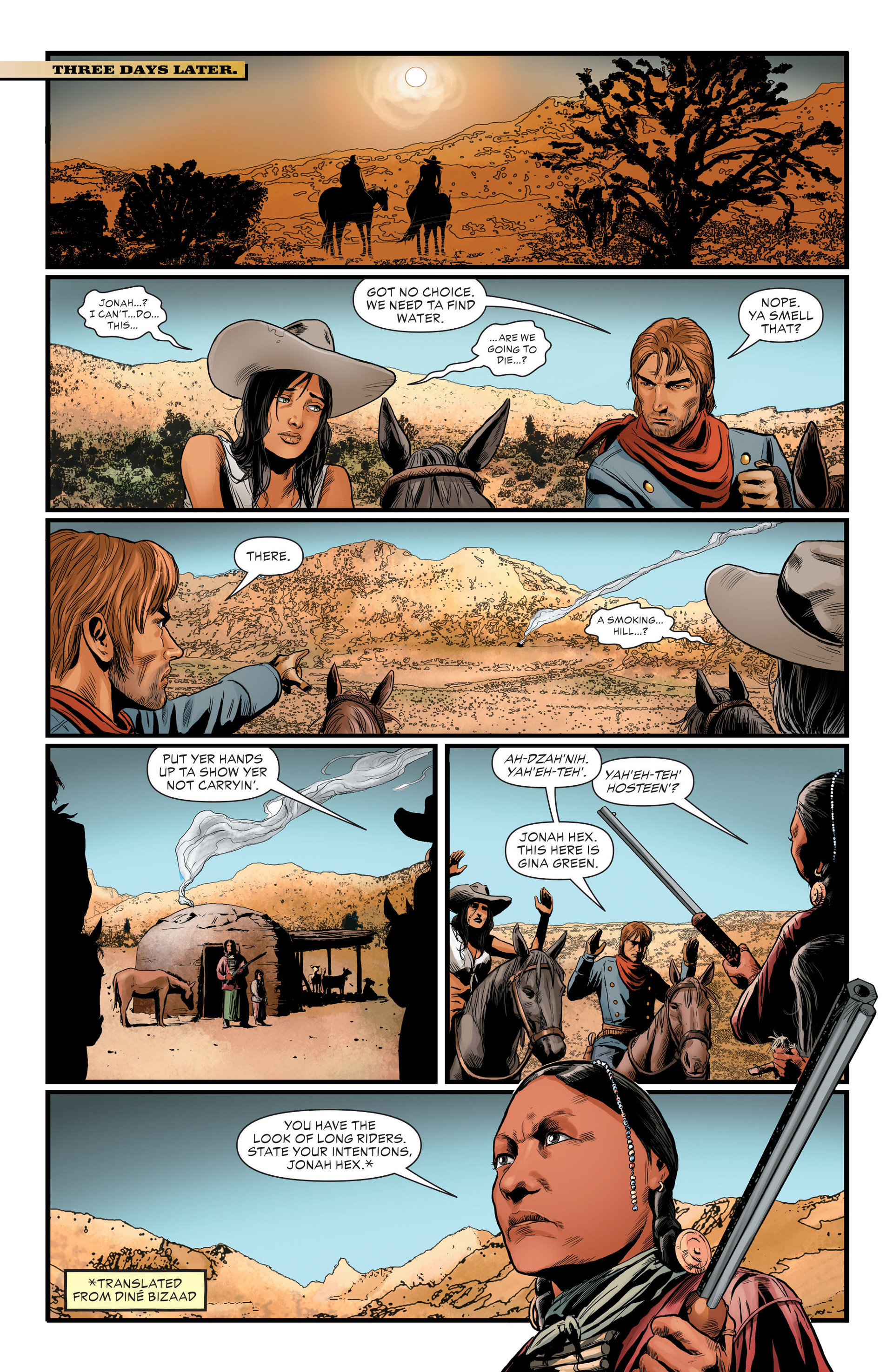 Read online All-Star Western (2011) comic -  Issue #29 - 21