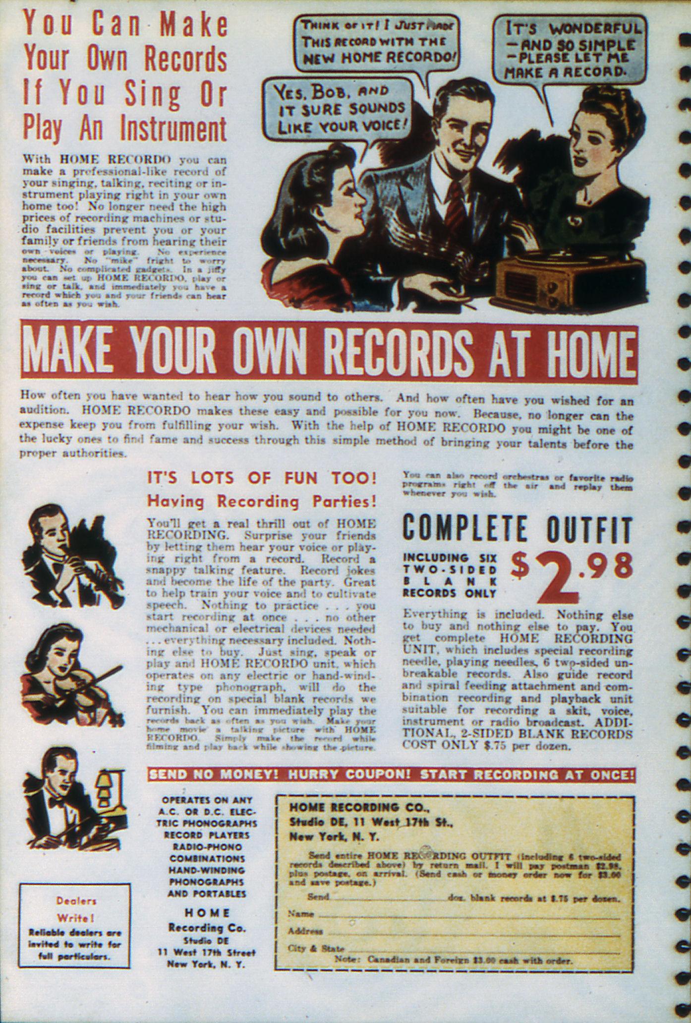 Read online Adventure Comics (1938) comic -  Issue #47 - 69