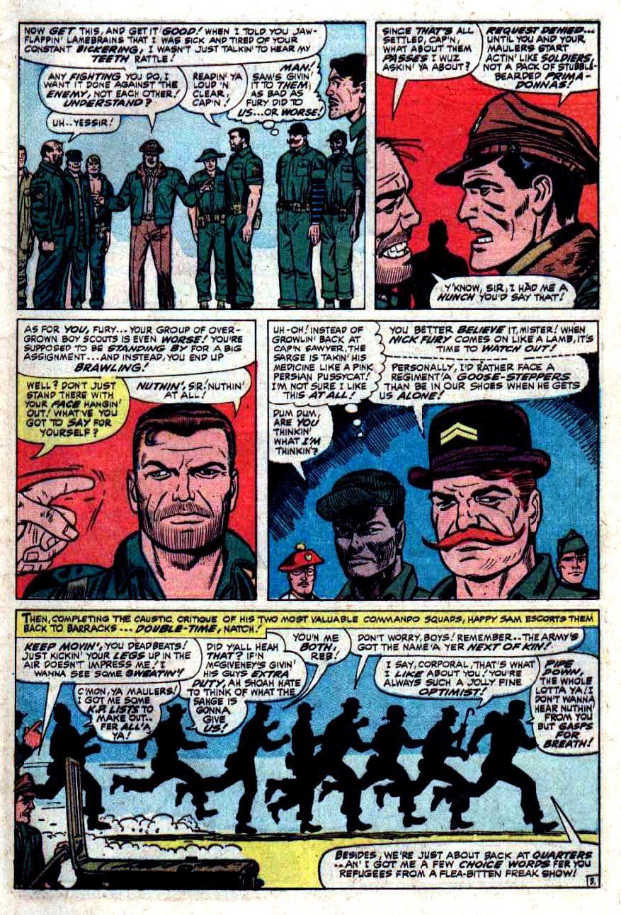 Read online Sgt. Fury comic -  Issue #33 - 5
