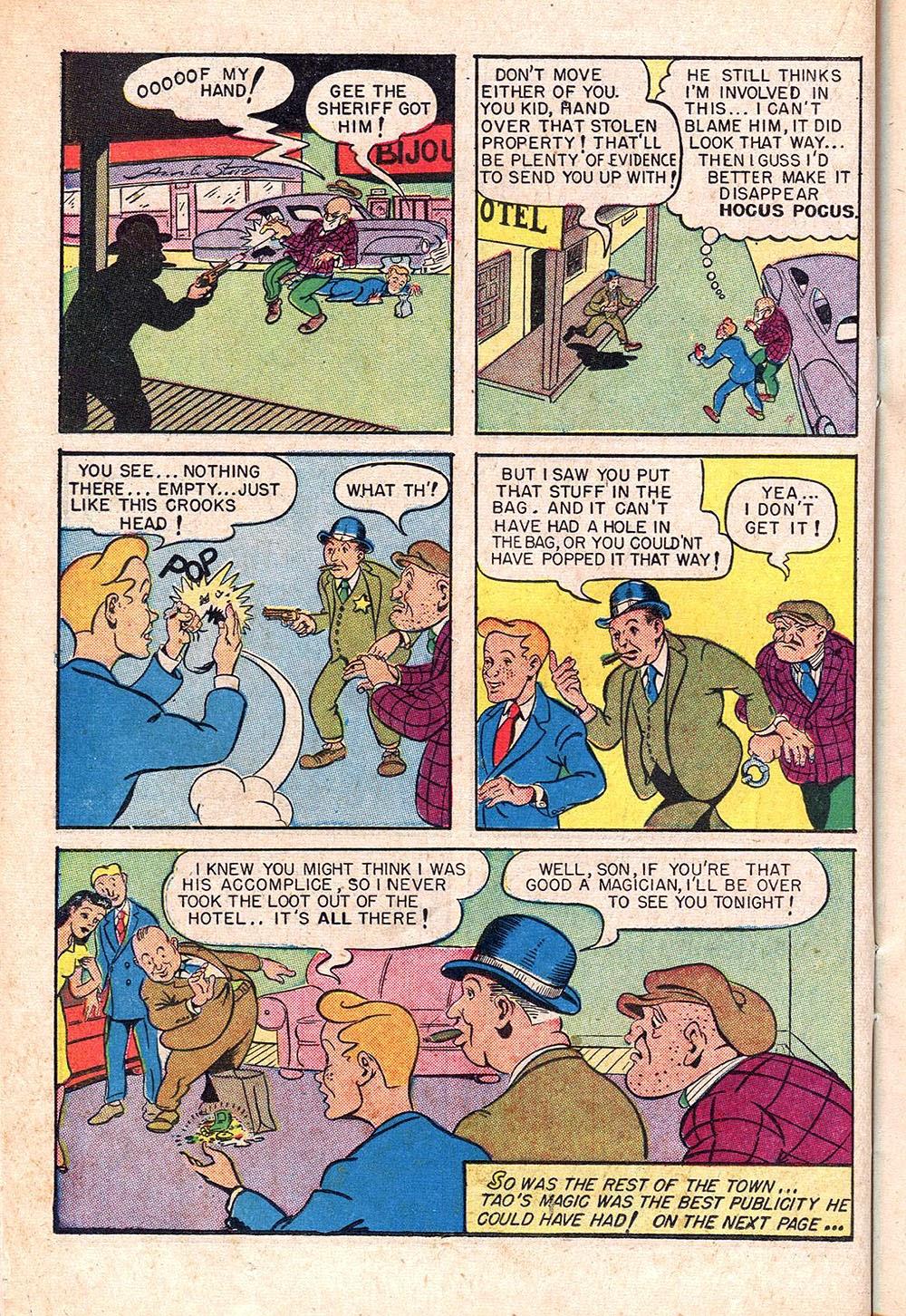 Read online Super-Magician Comics comic -  Issue #55 - 22