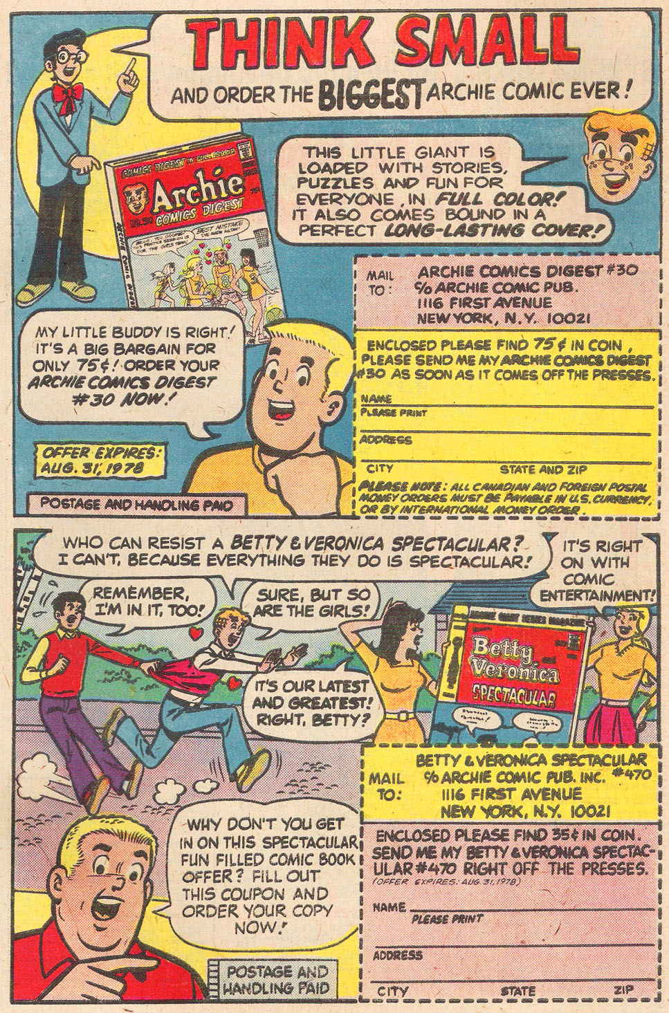 Read online Archie's Girls Betty and Veronica comic -  Issue #269 - 27