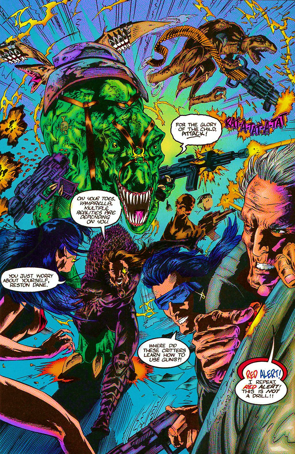 Read online Chains of Chaos comic -  Issue #2 - 12