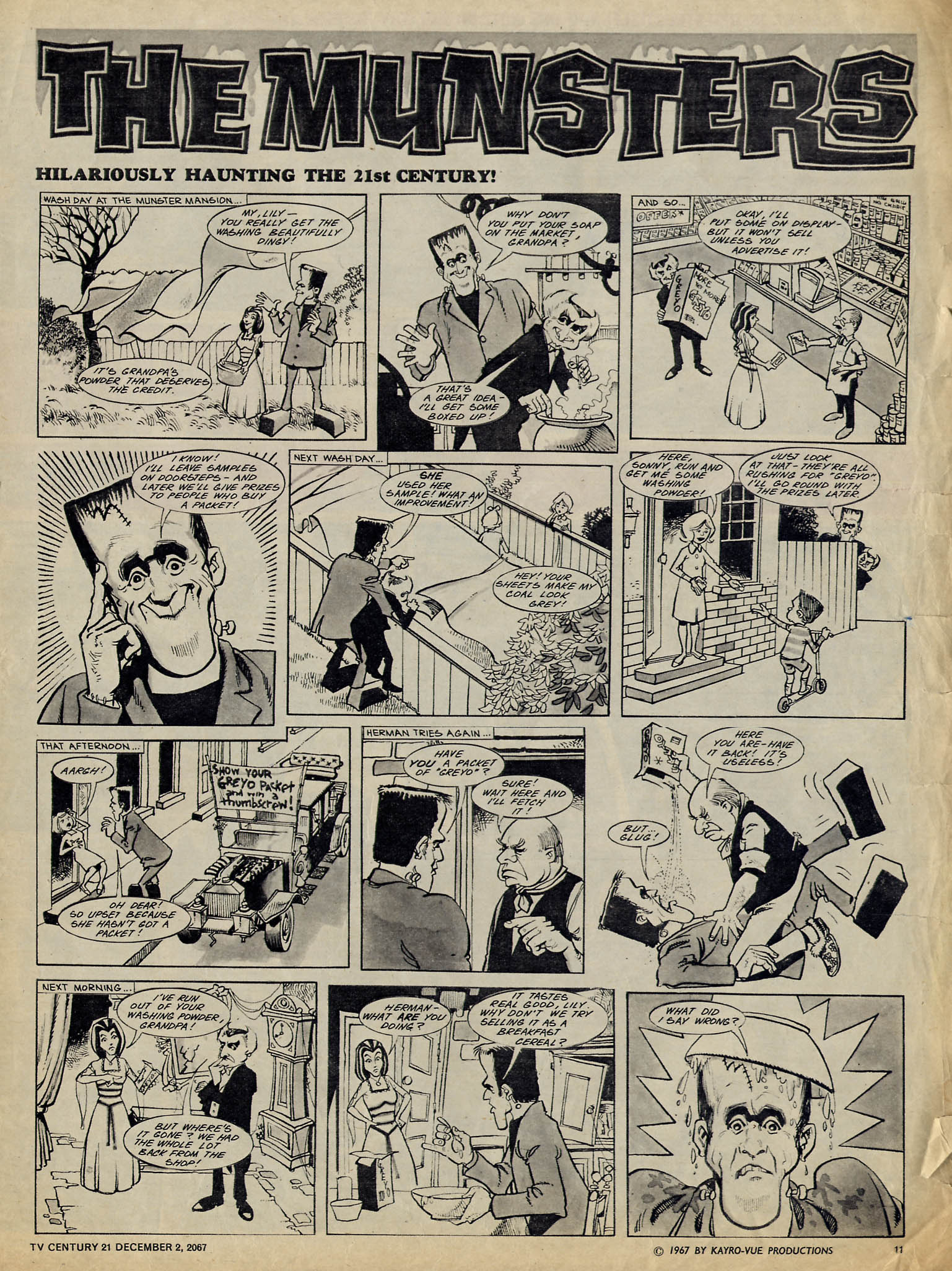 Read online TV Century 21 (TV 21) comic -  Issue #150 - 11