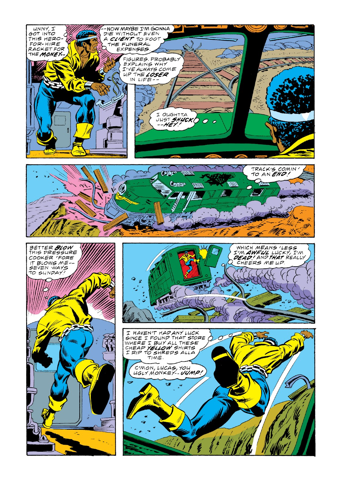 Read online Marvel Masterworks: Luke Cage, Power Man comic -  Issue # TPB 3 (Part 2) - 86