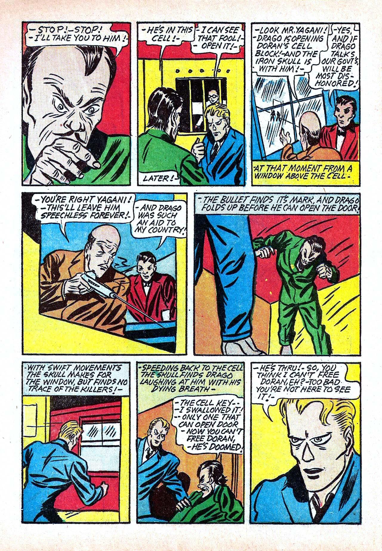 Read online Amazing Man Comics comic -  Issue #11 - 27