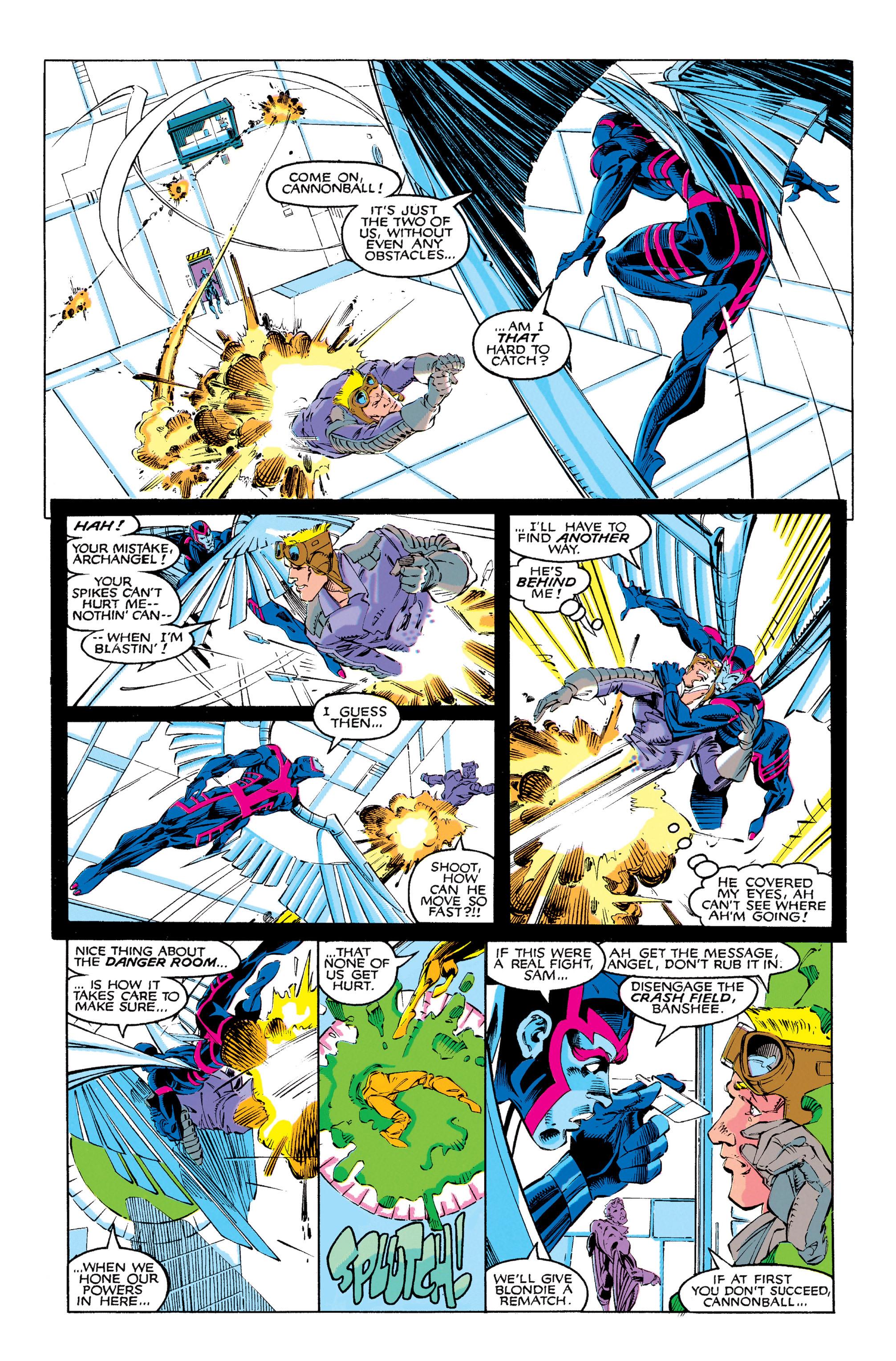 Read online Uncanny X-Men (1963) comic -  Issue #273 - 12