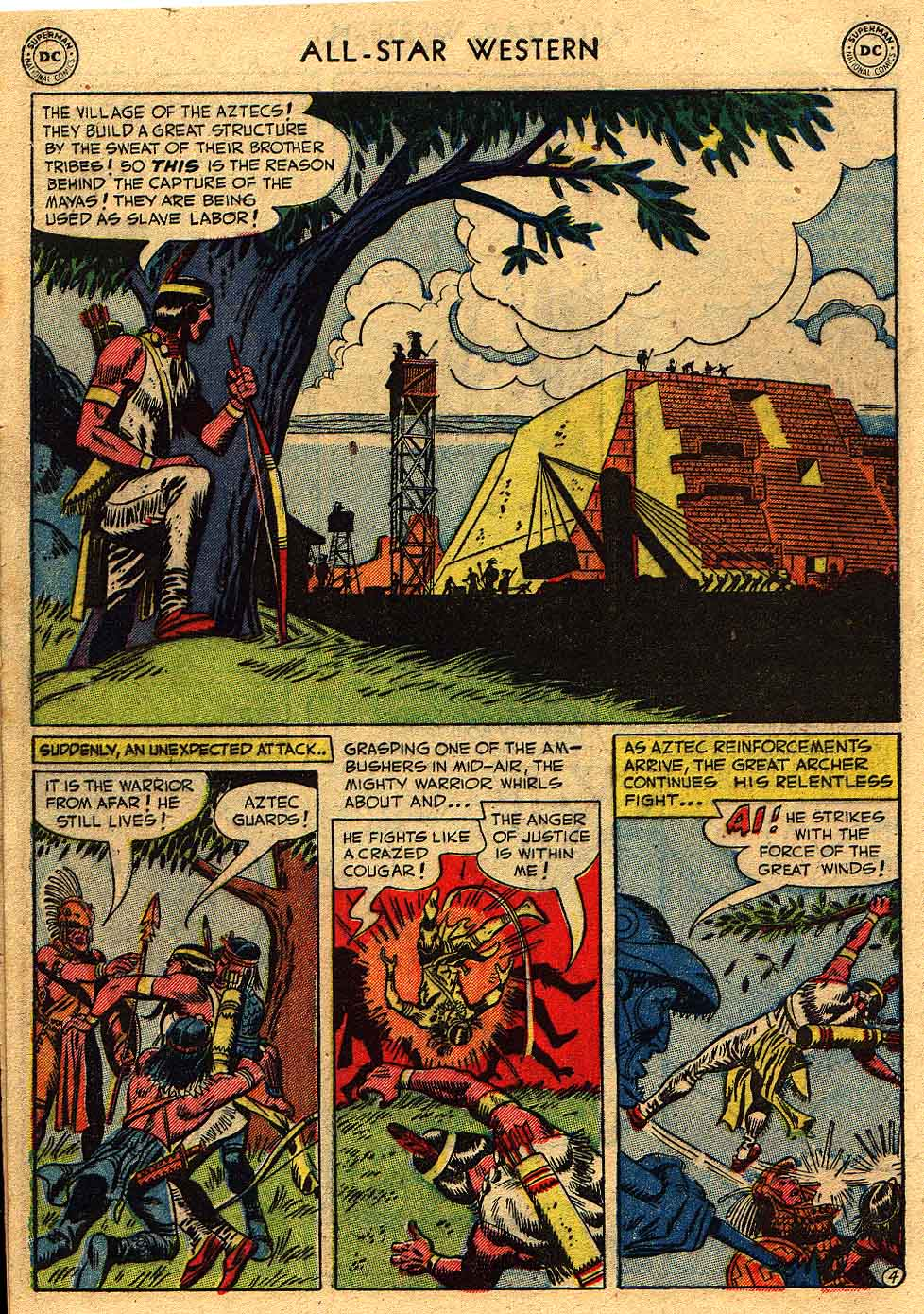 Read online All-Star Western (1951) comic -  Issue #62 - 6