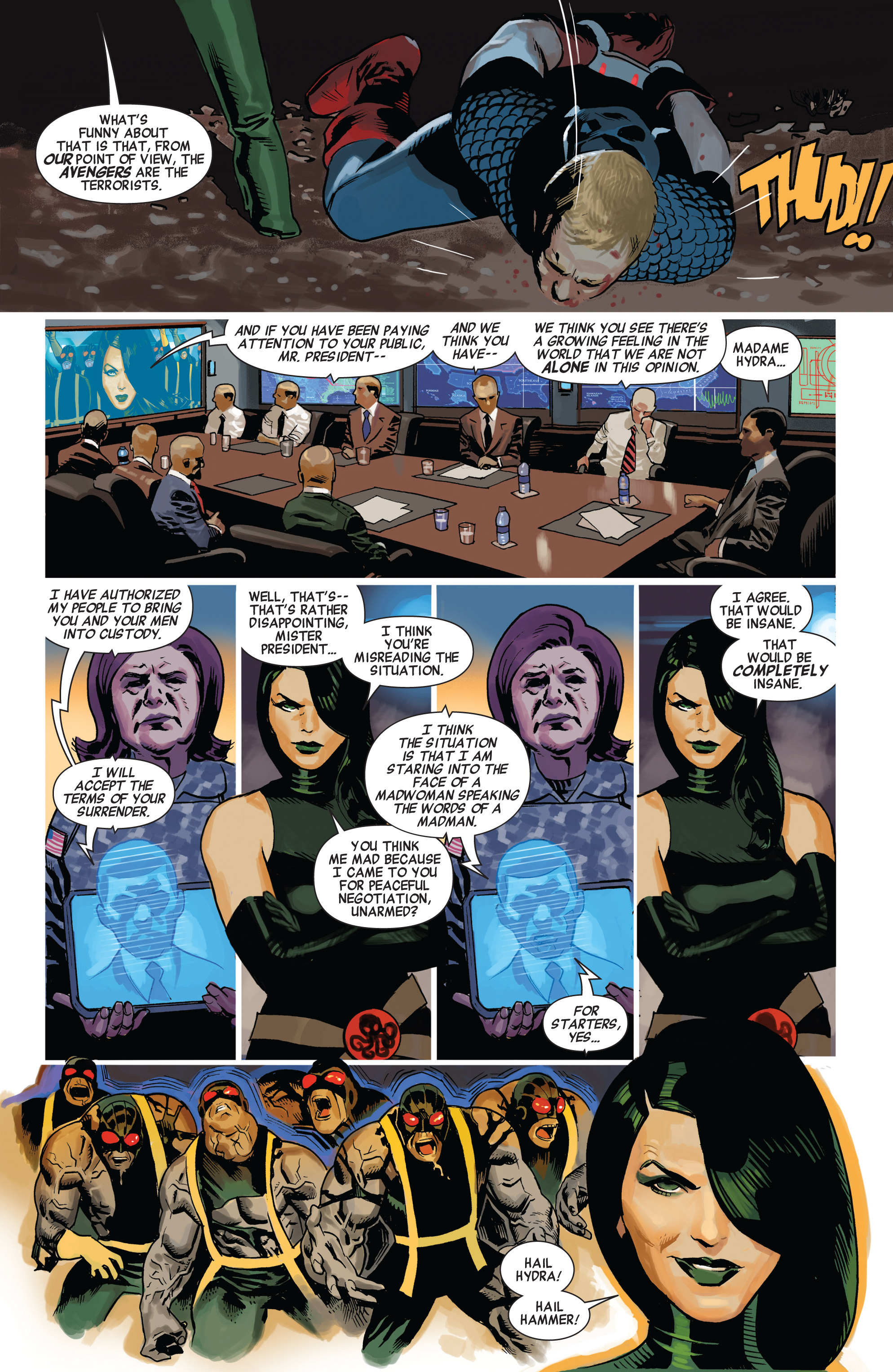 Read online Avengers (2010) comic -  Issue #23 - 6
