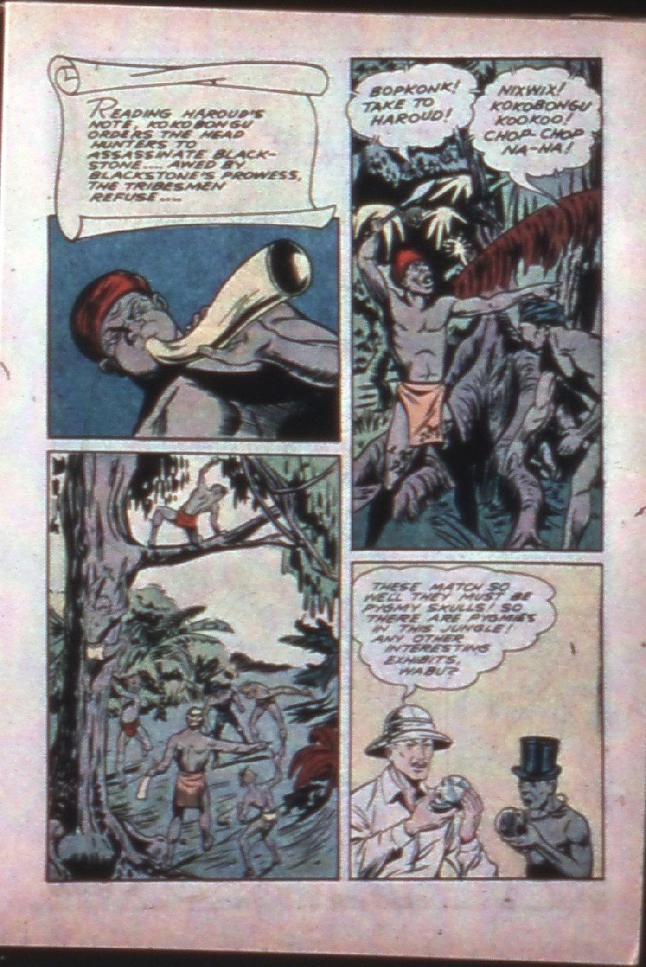 Read online Super-Magician Comics comic -  Issue #7 - 17