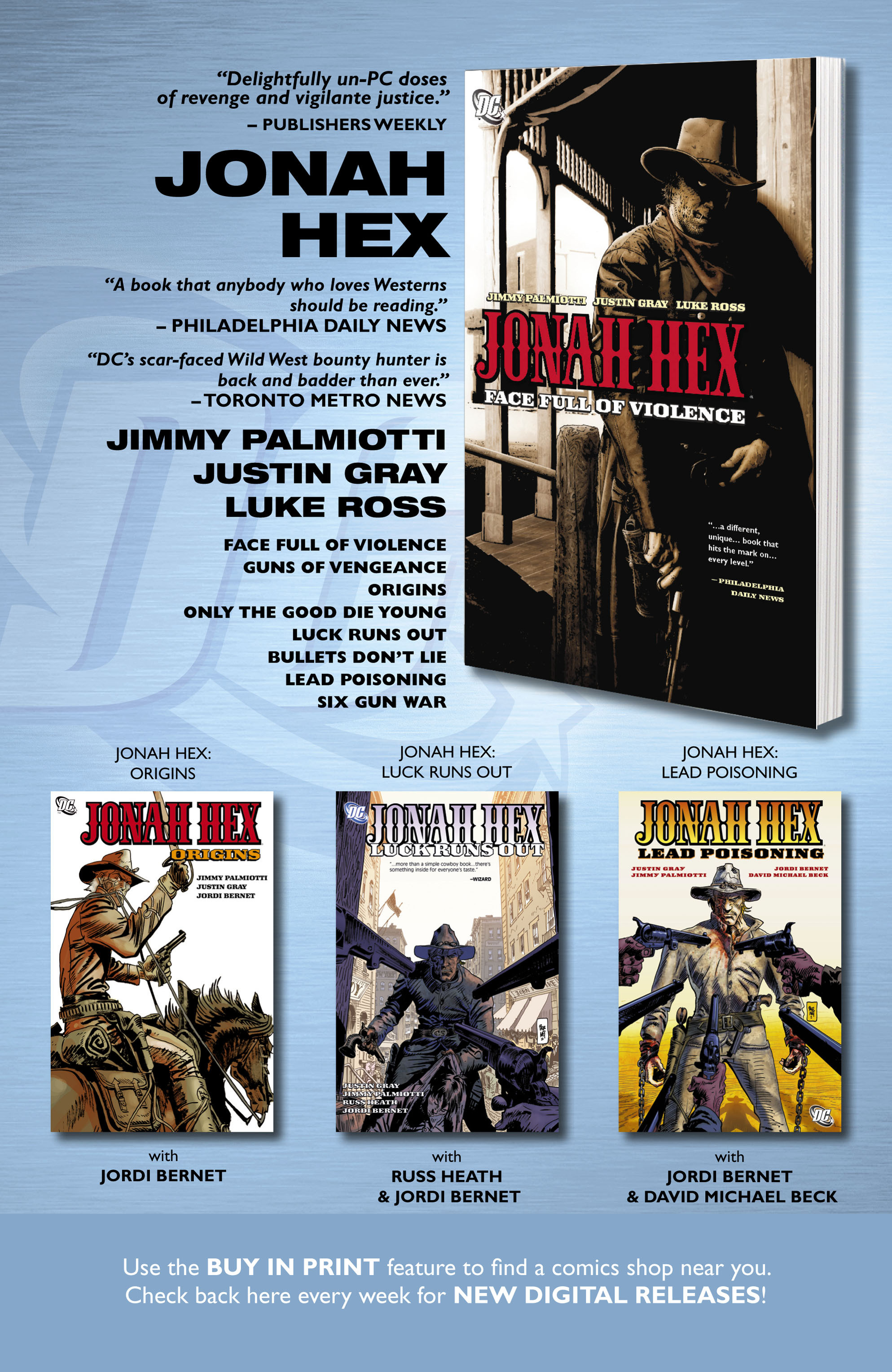 Read online All-Star Western (2011) comic -  Issue #0 - 33