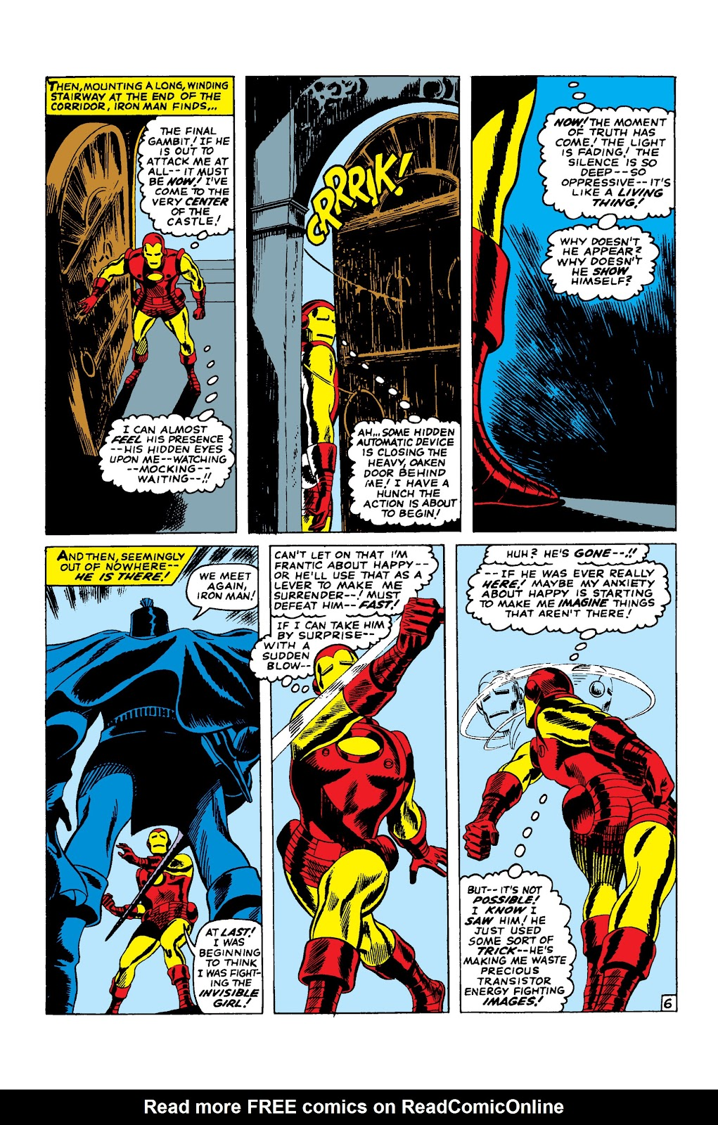 Read online Marvel Masterworks: The Invincible Iron Man comic -  Issue # TPB 3 (Part 2) - 70