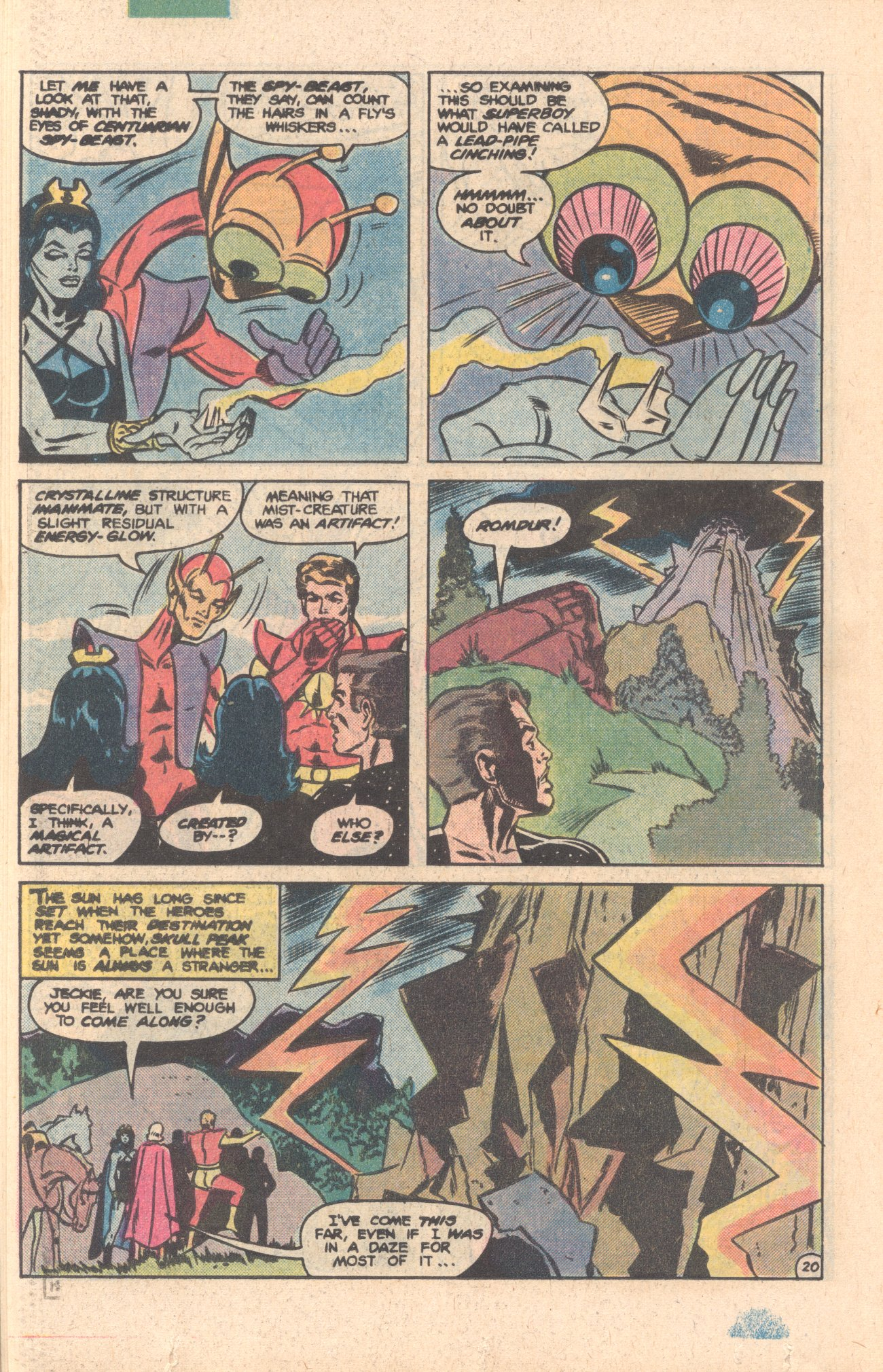 Legion of Super-Heroes (1980) 276 Page 20