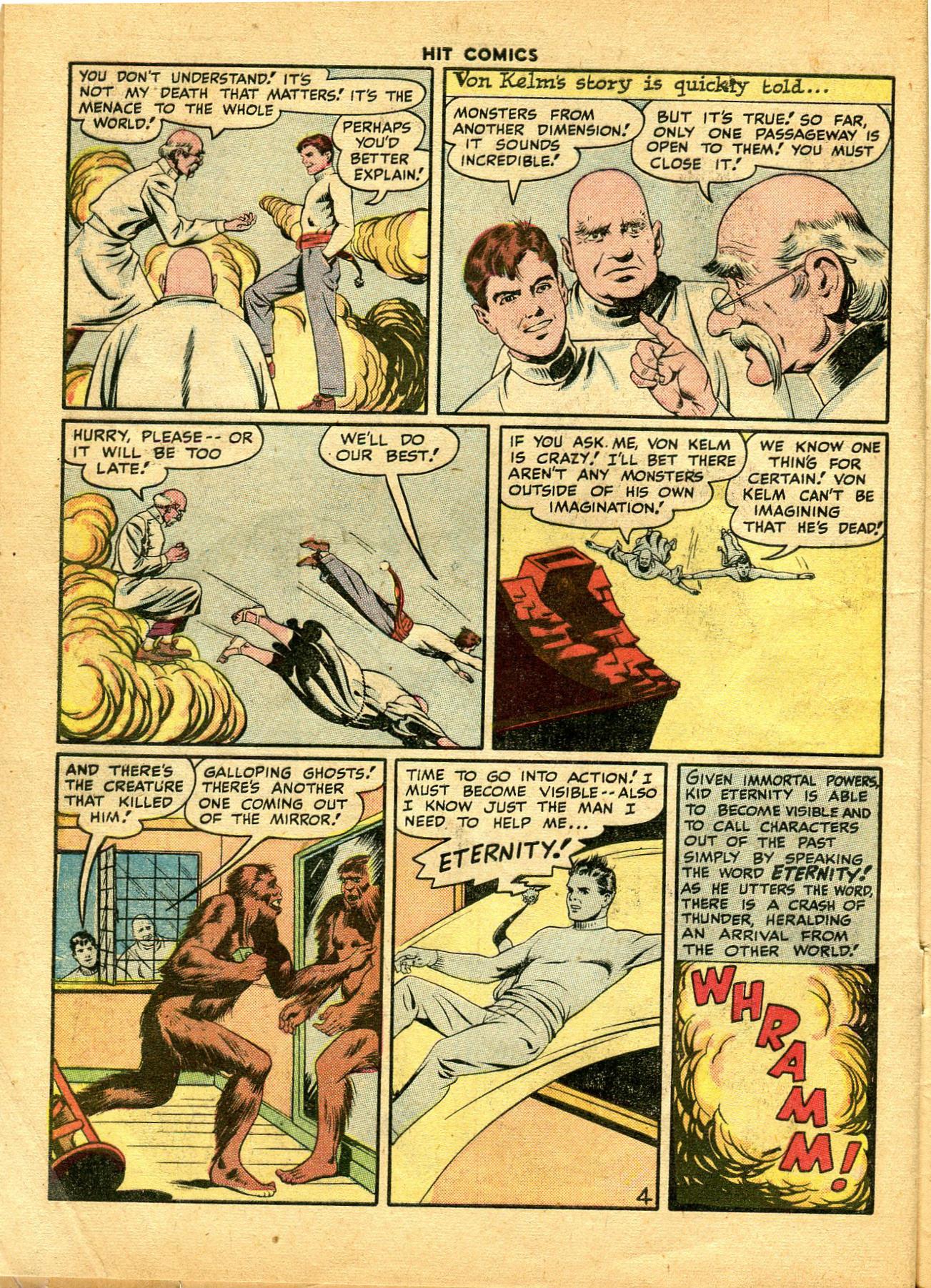 Read online Hit Comics comic -  Issue #49 - 6