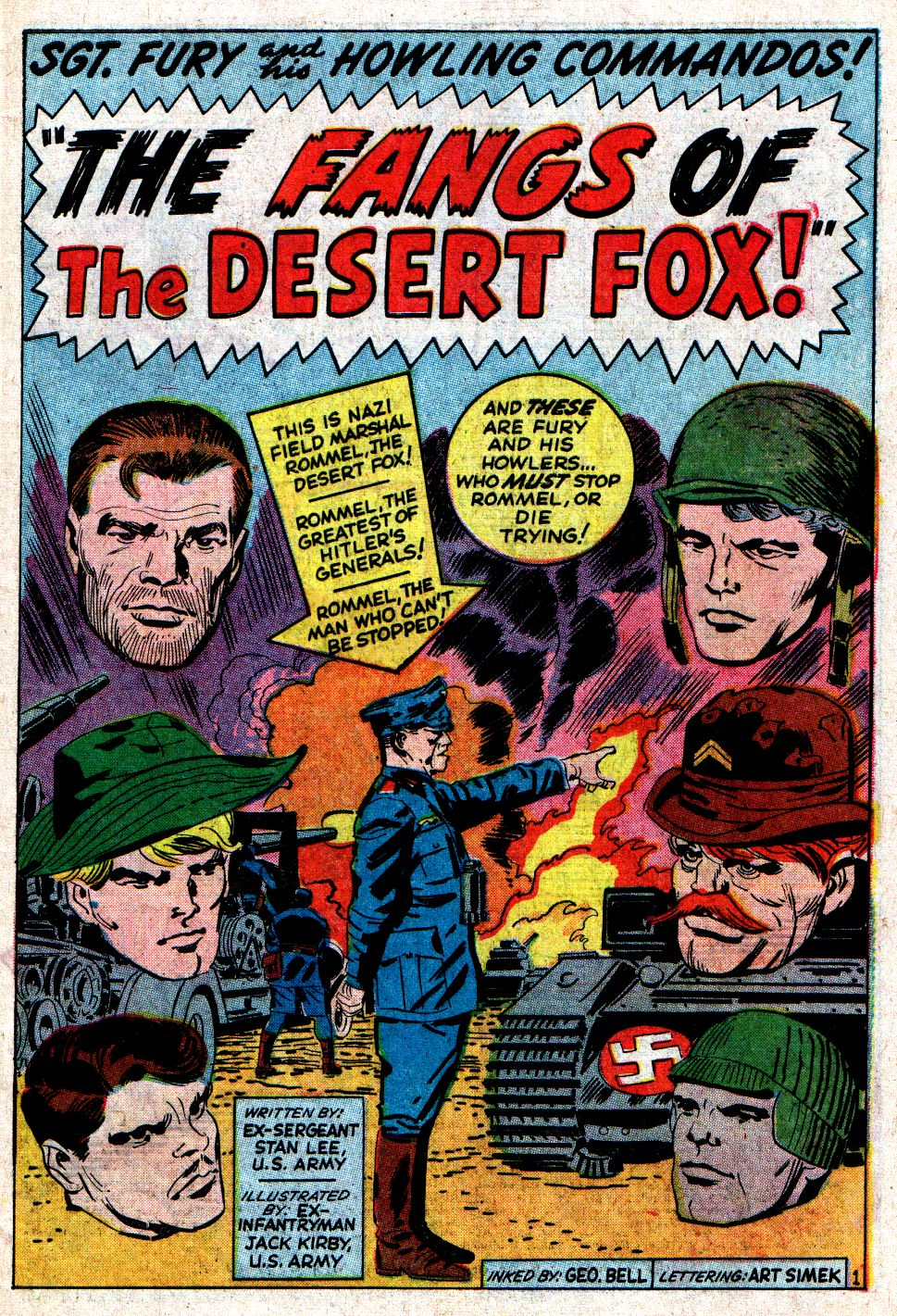 Read online Sgt. Fury comic -  Issue #6 - 3