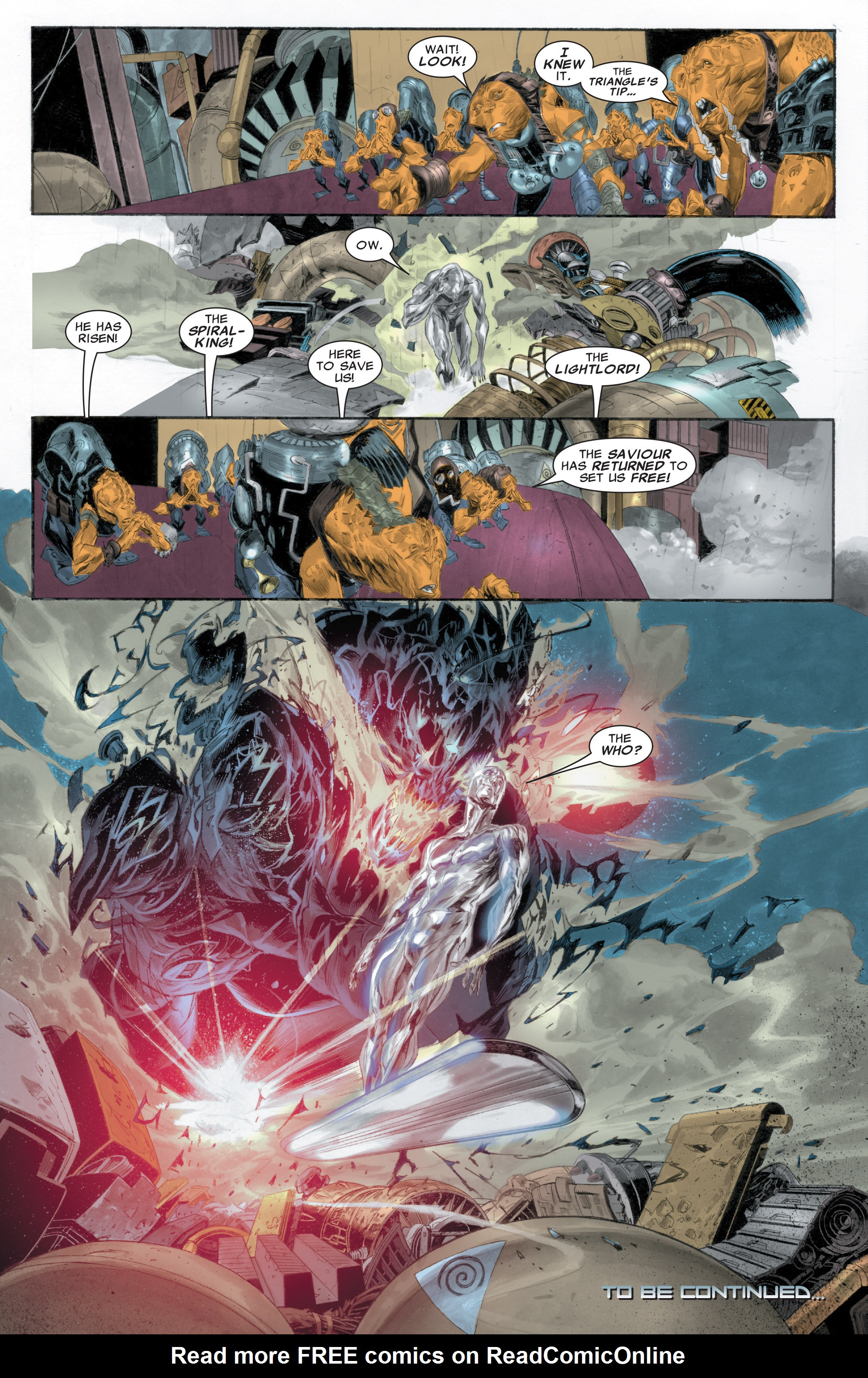 Read online Silver Surfer: In Thy Name comic -  Issue #1 - 24