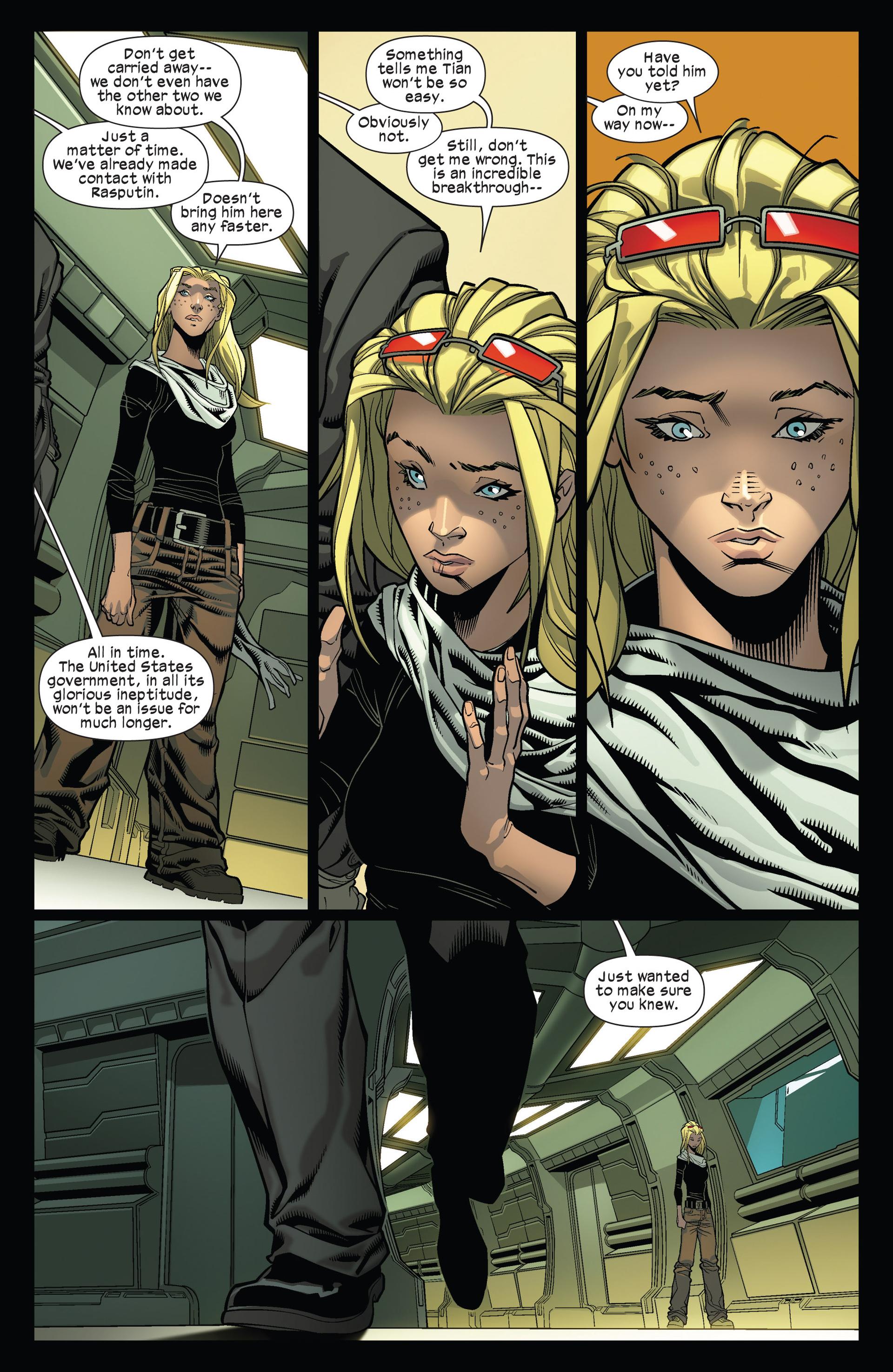 Read online Ultimate Comics X-Men comic -  Issue #12 - 16