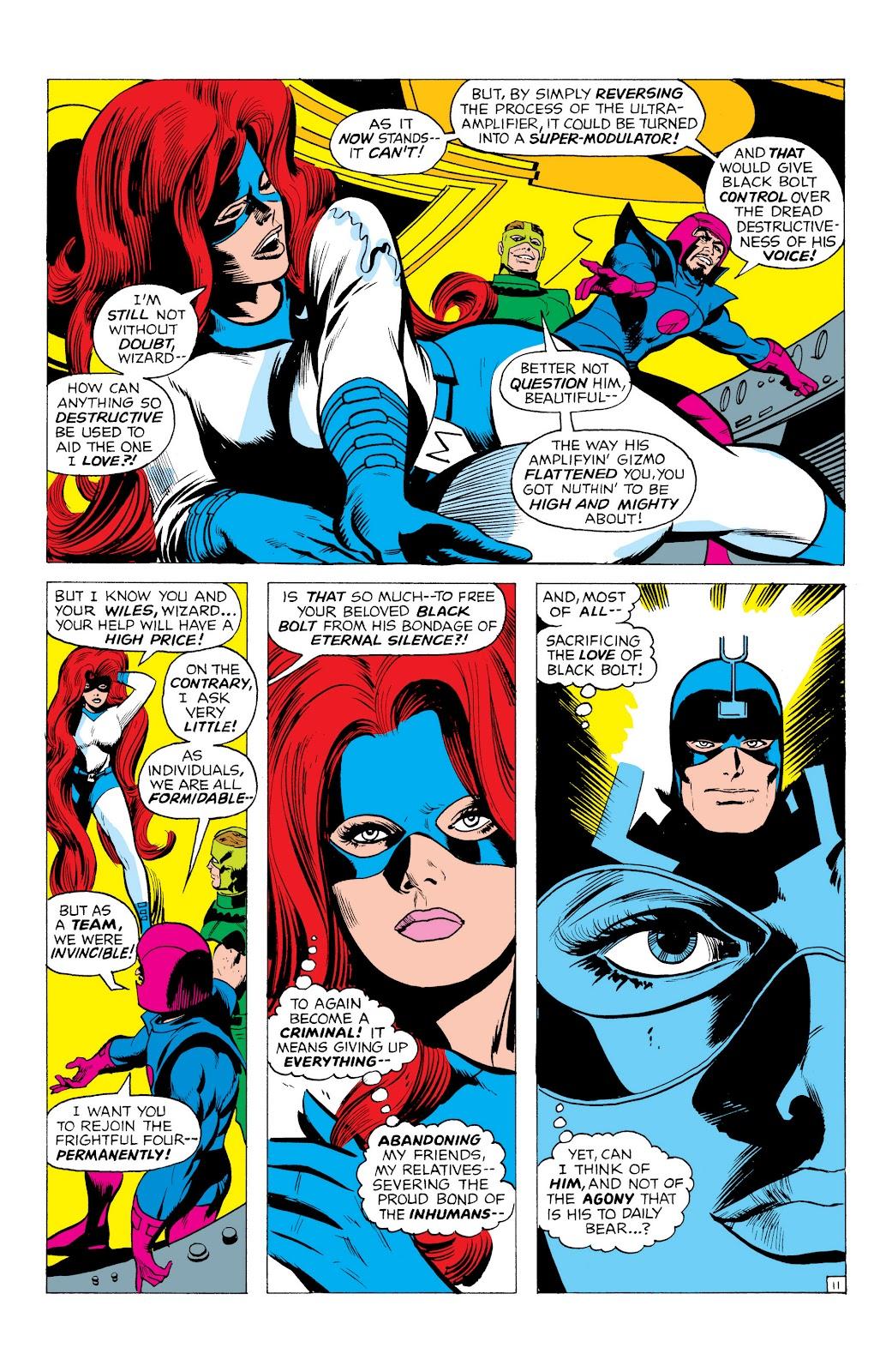 Read online Marvel Masterworks: The Inhumans comic -  Issue # TPB 1 (Part 1) - 54