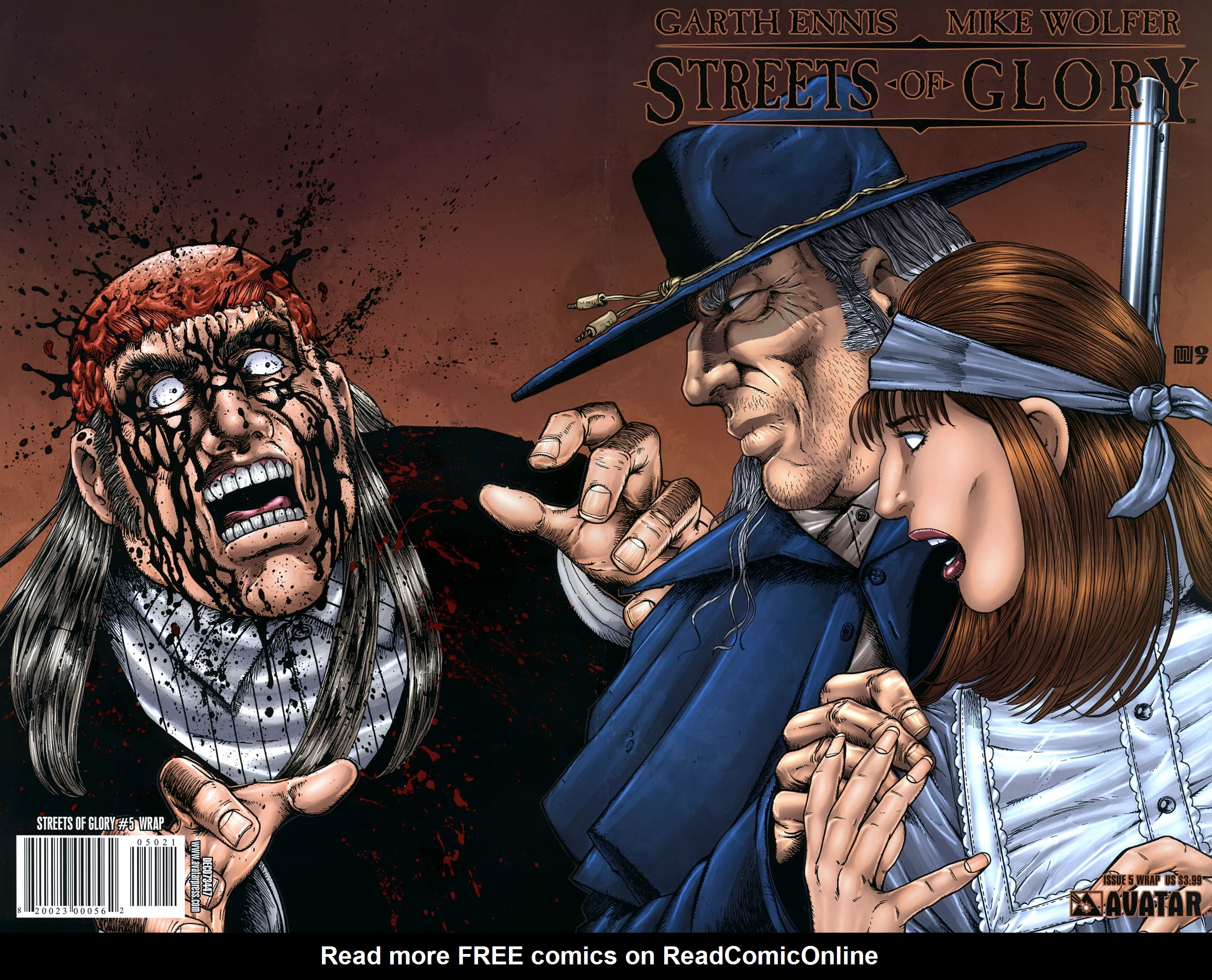 Read online Garth Ennis' Streets of Glory comic -  Issue #5 - 1