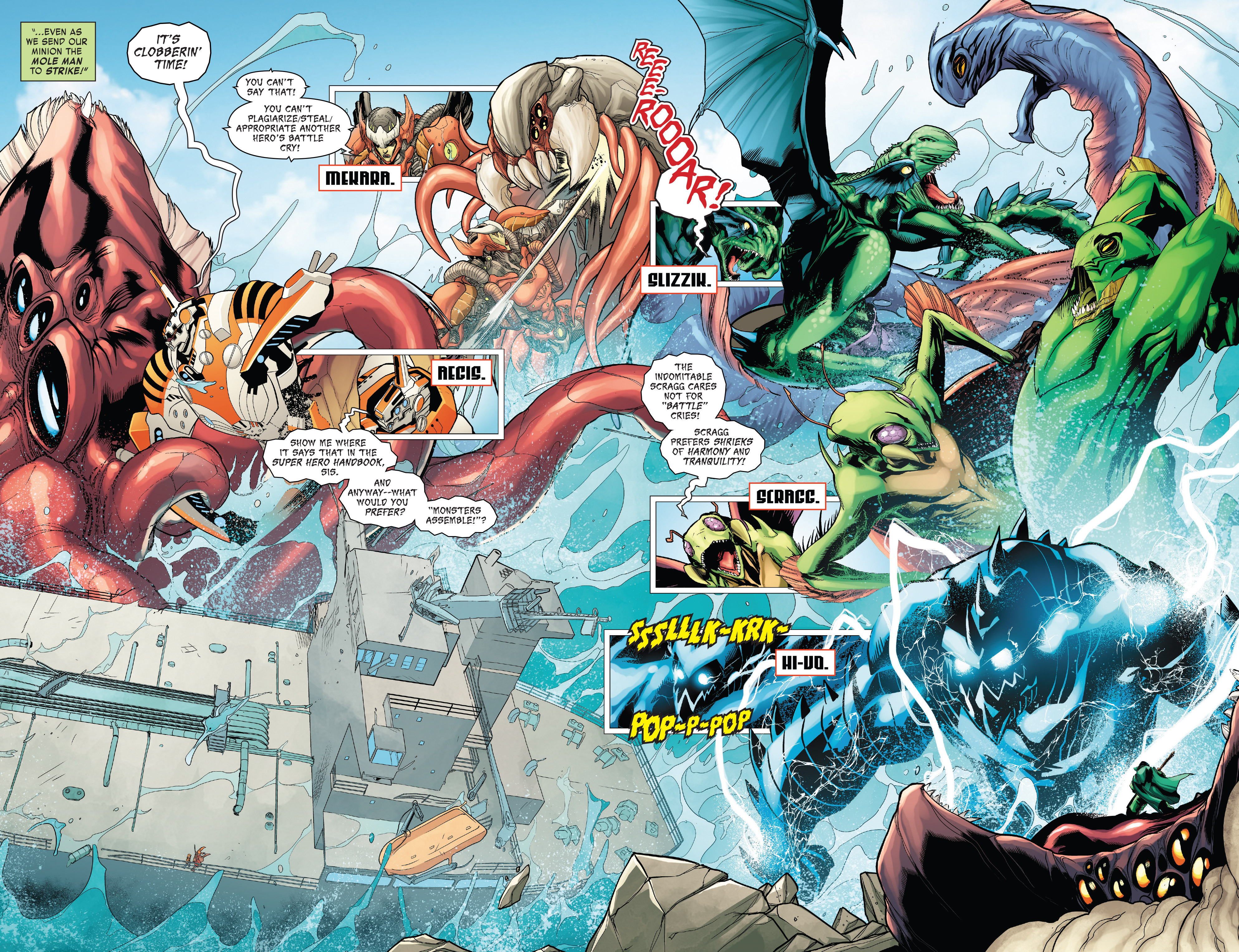 Read online Monsters Unleashed II comic -  Issue #2 - 4