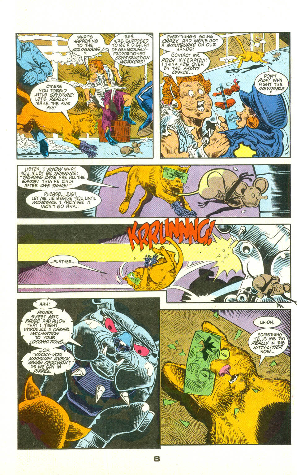 Read online American Flagg! comic -  Issue #23 - 28