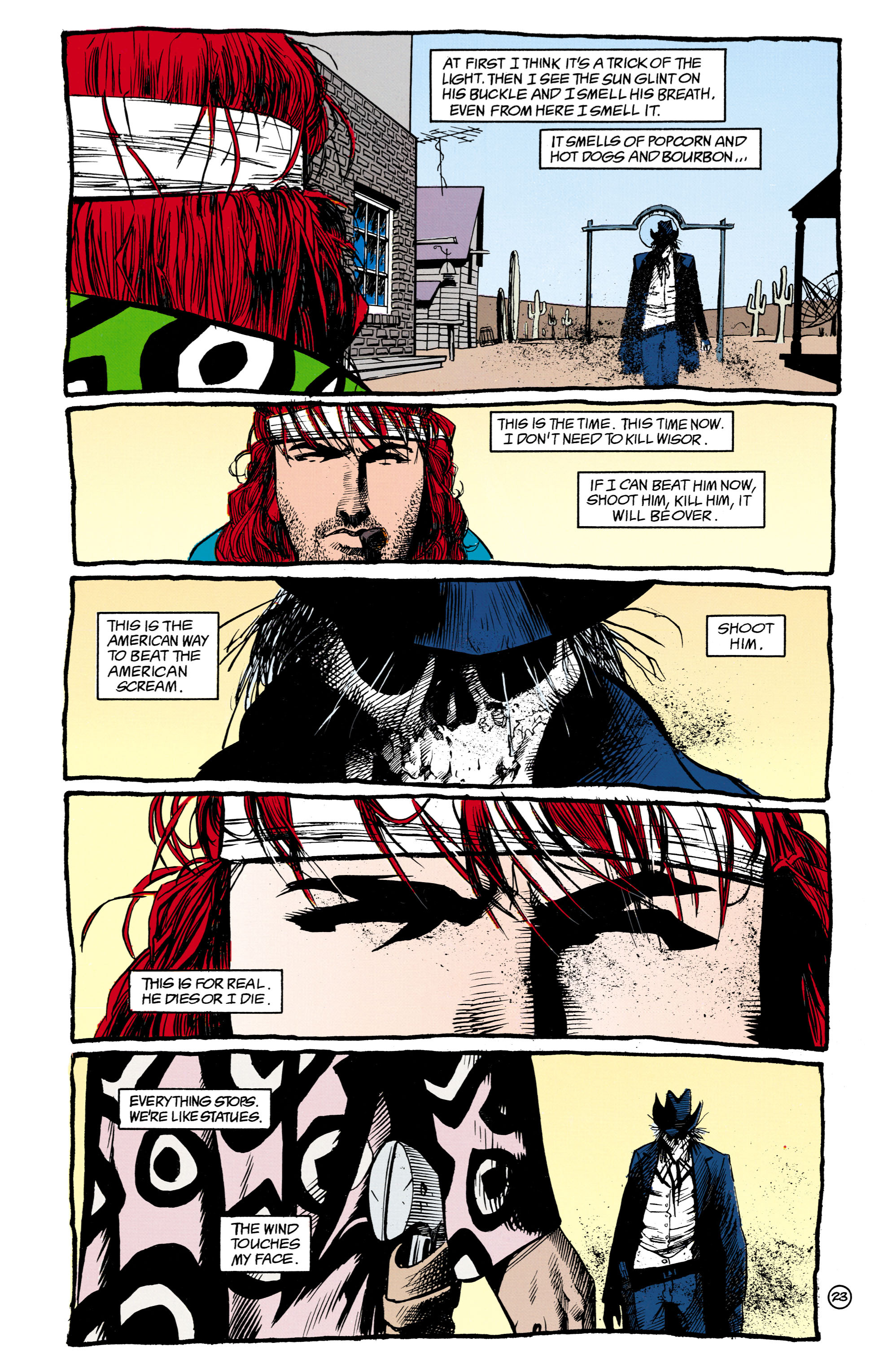 Read online Shade, the Changing Man comic -  Issue #16 - 23