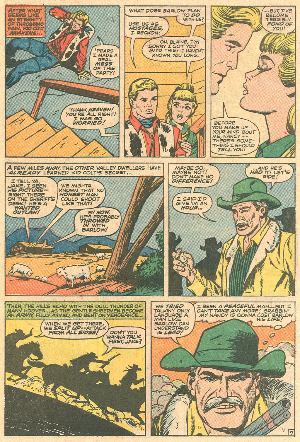 Kid Colt Outlaw issue 136 - Page 10