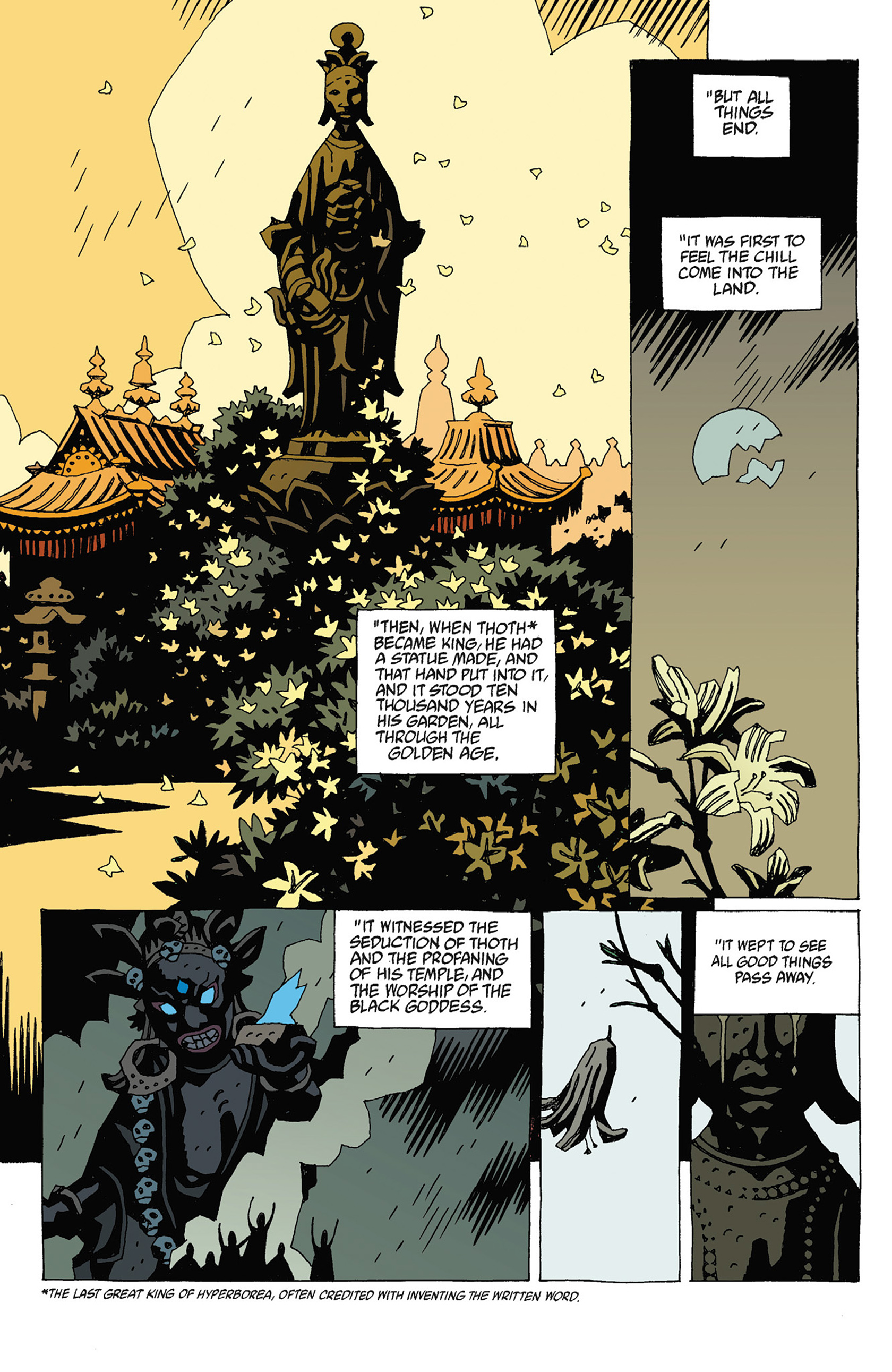 Read online Hellboy: Strange Places comic -  Issue # TPB - 110