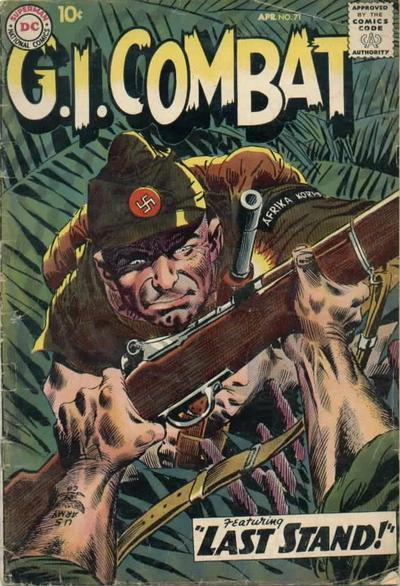 G.I. Combat (1952) issue 71 - Page 1