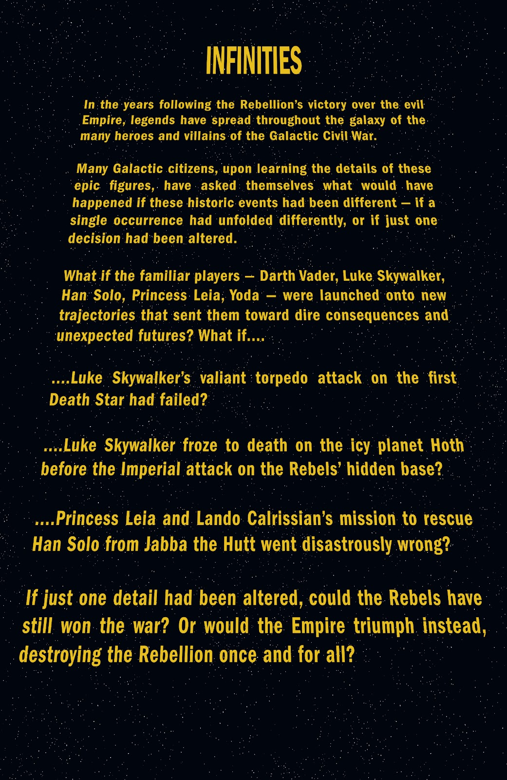 Read online Star Wars Legends: Infinities - Epic Collection comic -  Issue # TPB (Part 1) - 4